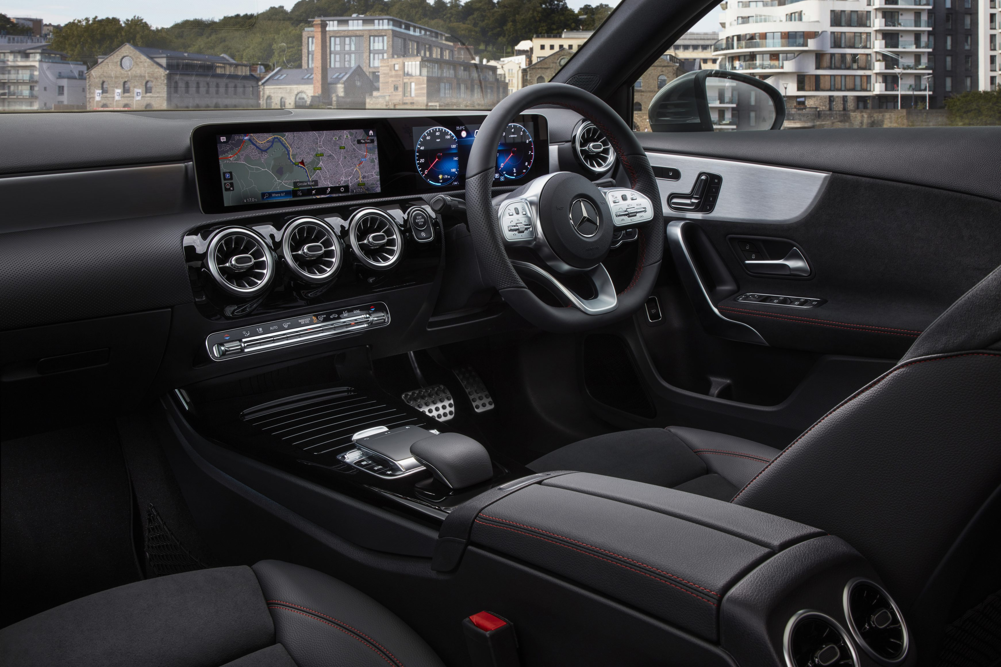 2021 Mercedes-Benz A-Class Saloon interior