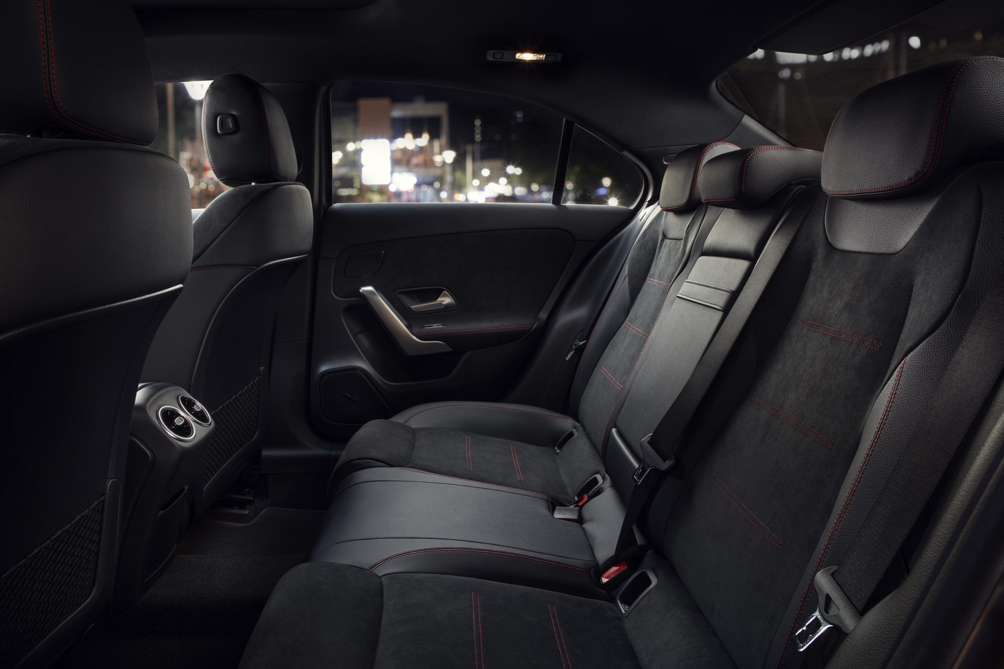 2021 Mercedes-Benz A-Class Saloon back seats