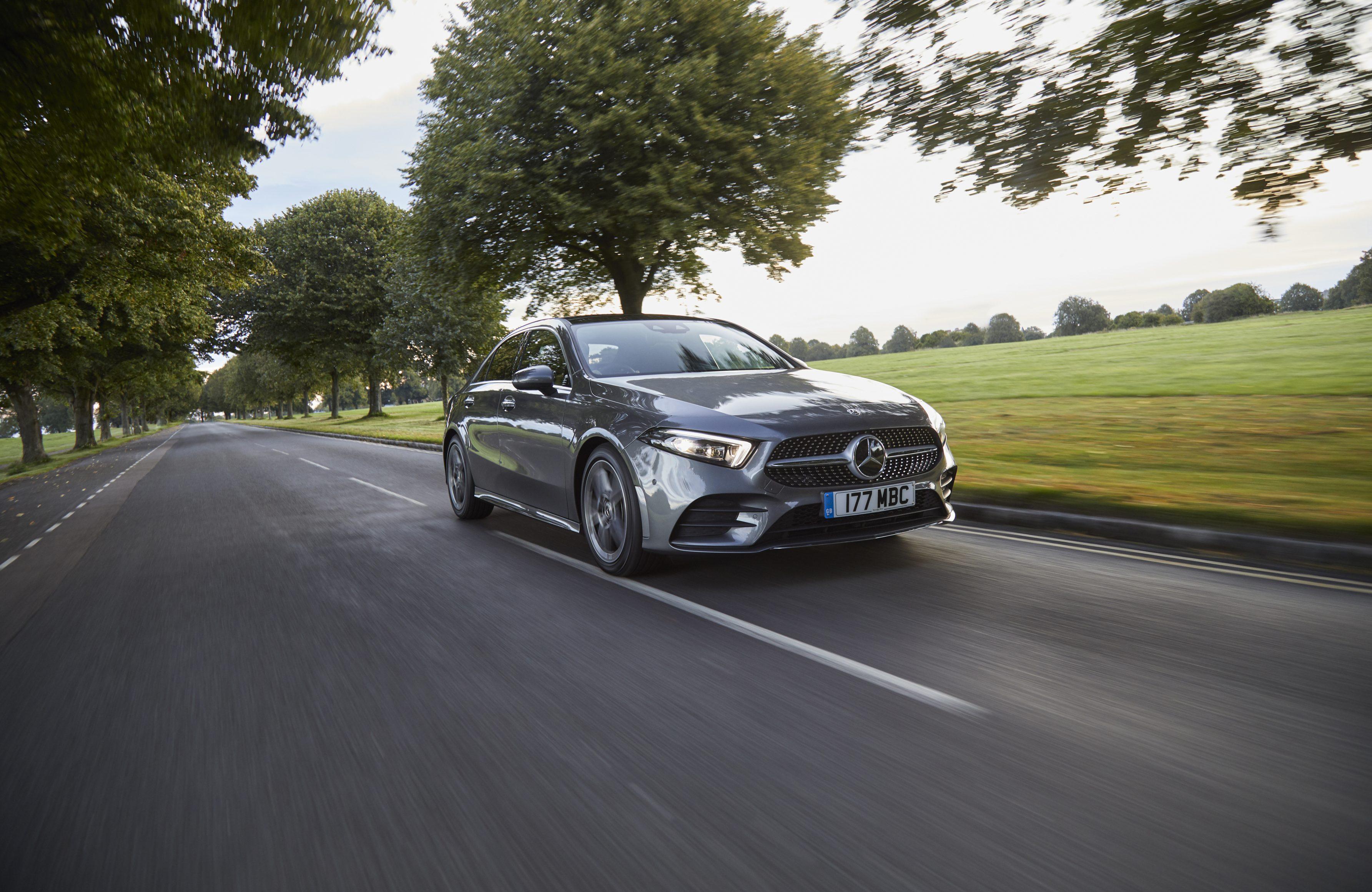 2021 Mercedes-Benz A-Class Saloon exterior