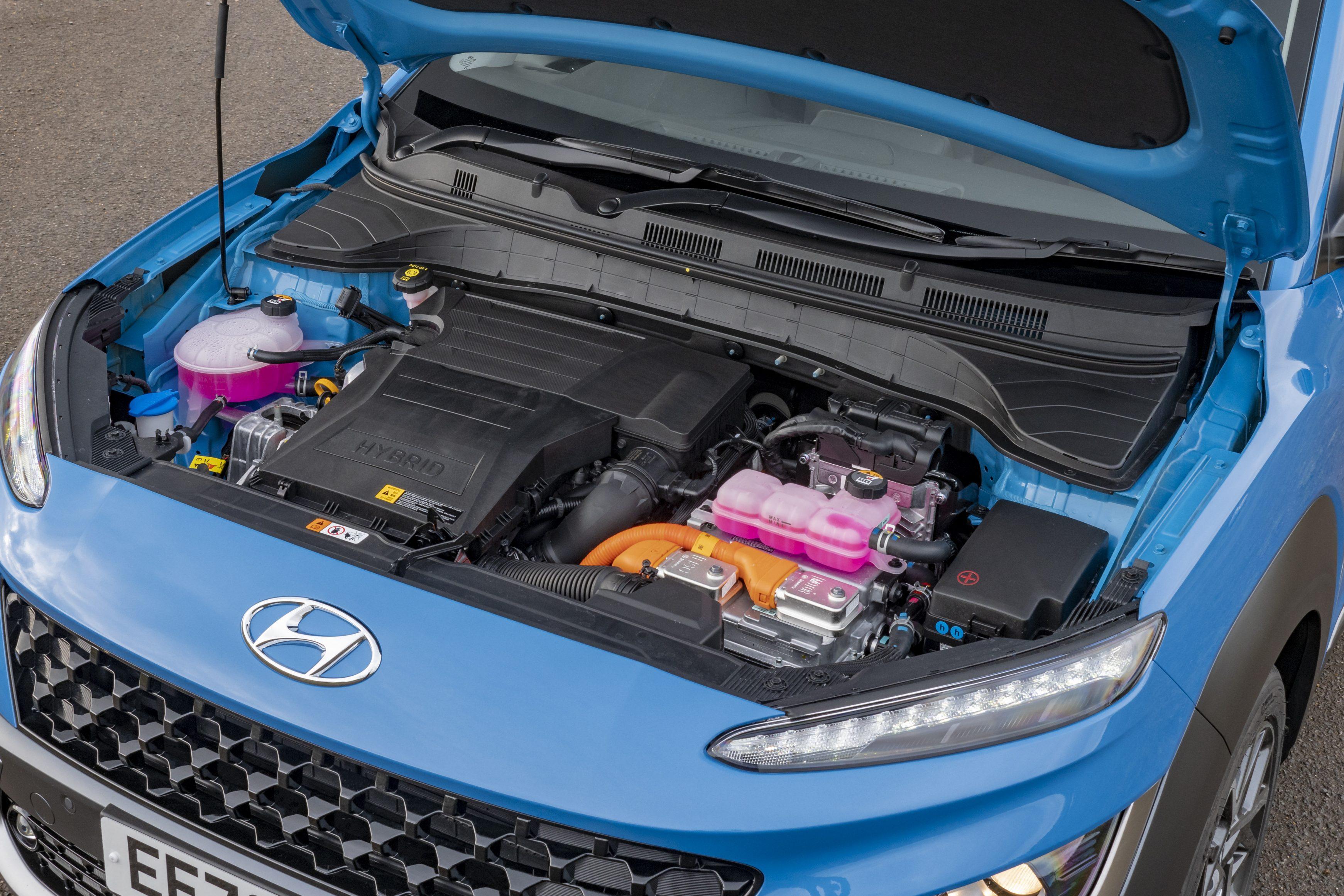 The Hyundai Kona Hybrid has an excellent 1.6-litre petrol-electric unit