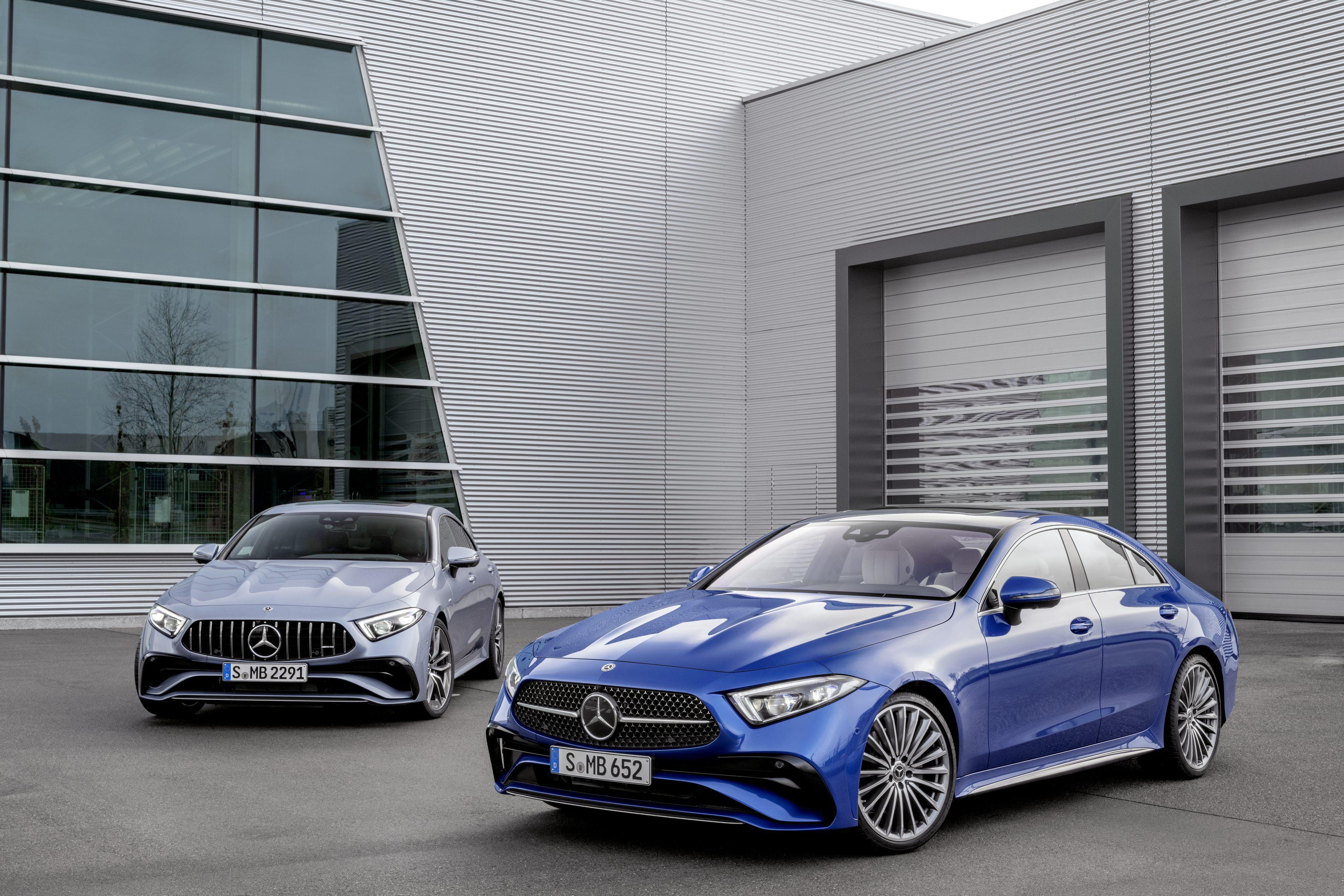 Mercedes-Benz CLS Coupé (BR 257), 2021 & Mercedes-AMG CLS 53 4M