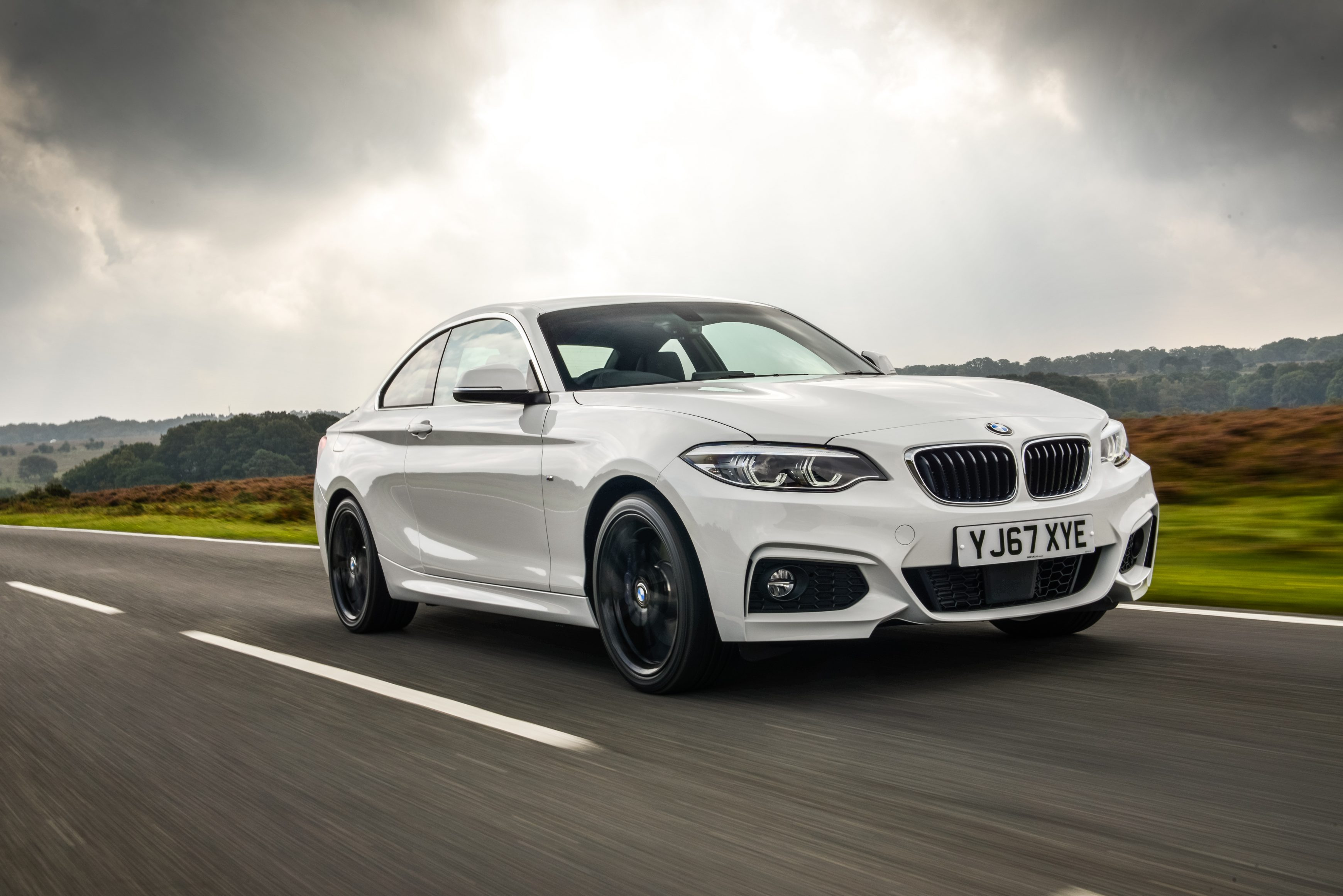 BMW 2 Series out on the road