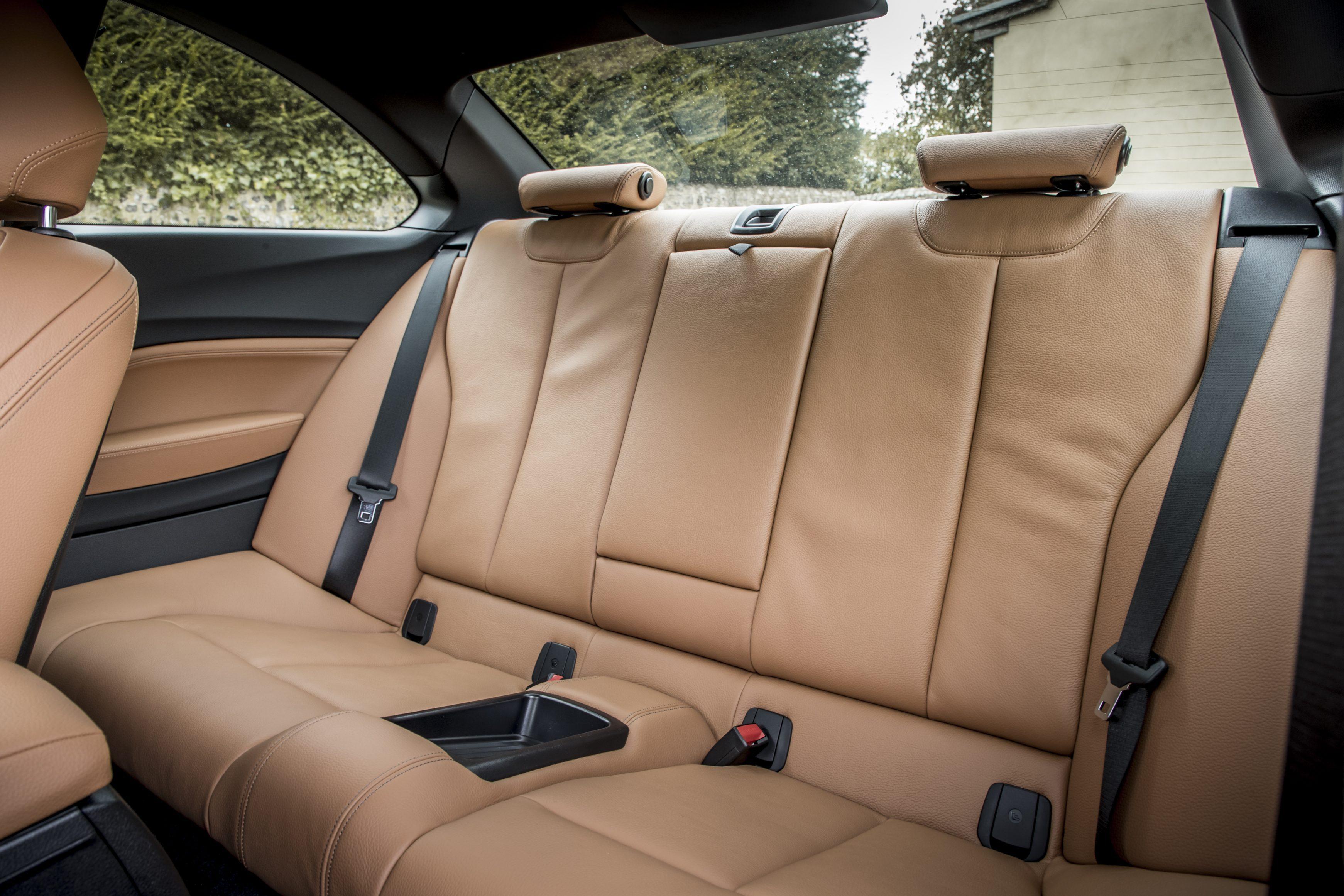 BMW 2 Series backseats