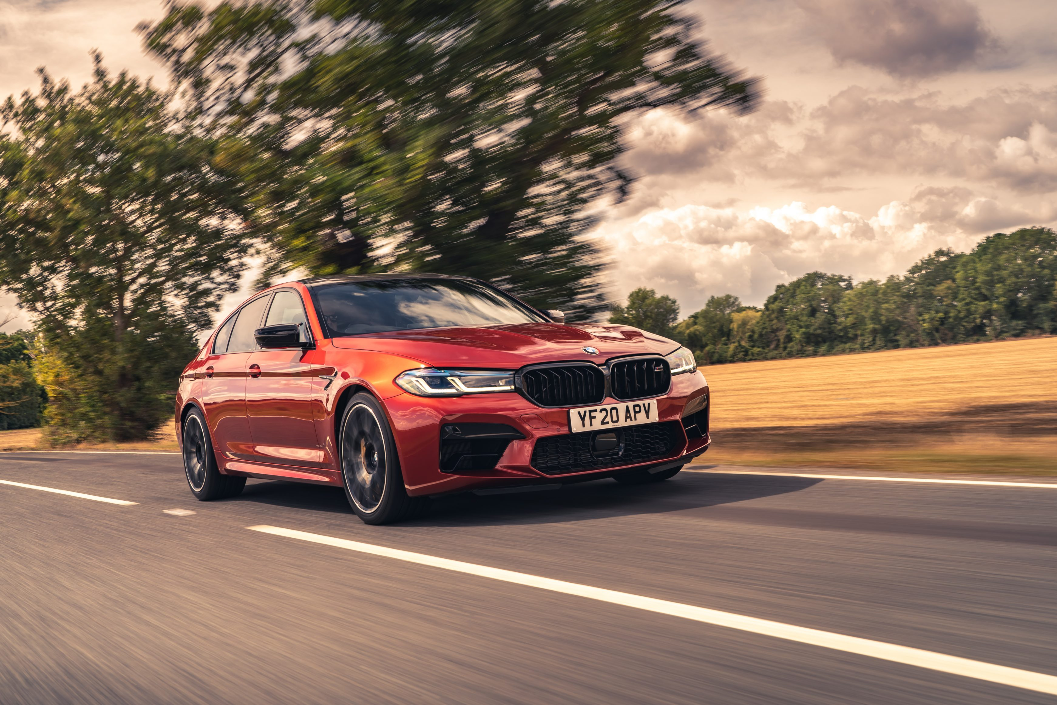 BMW M5 Competition - left forward