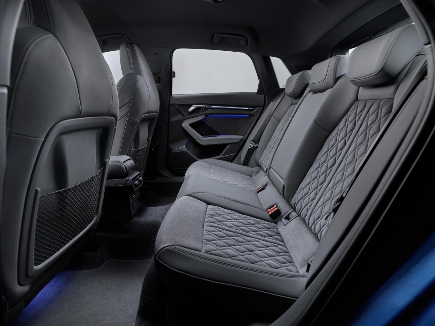 Audi A3 Sportback back seats