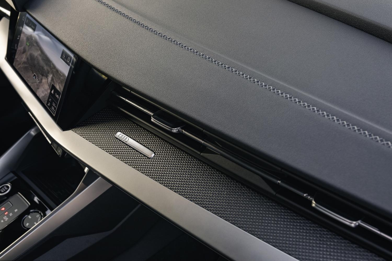 Audi A3 Sportback dashboard