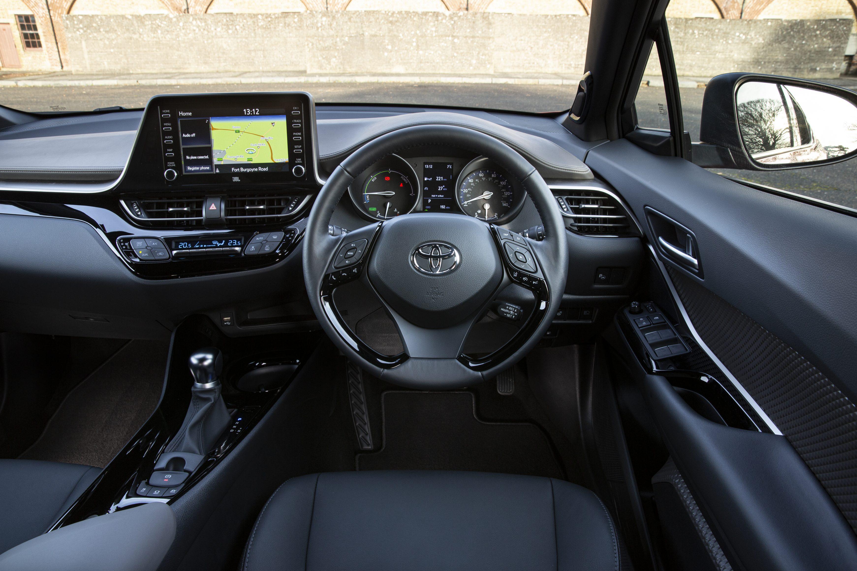 Toyota-C-HR driver's seat