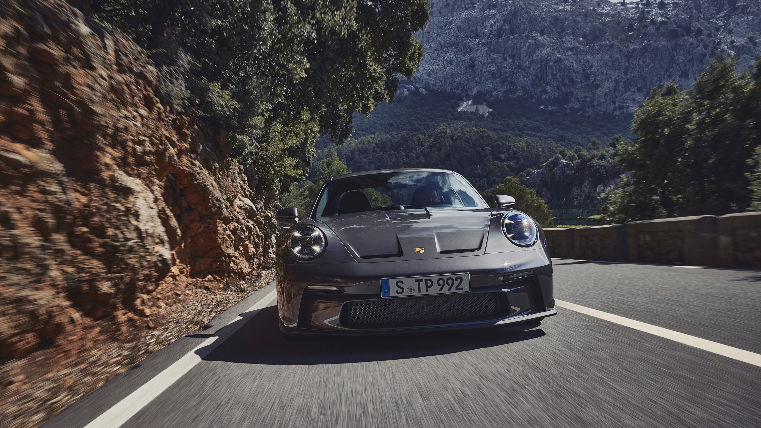 New Porsche 911 GT3 with touring pack