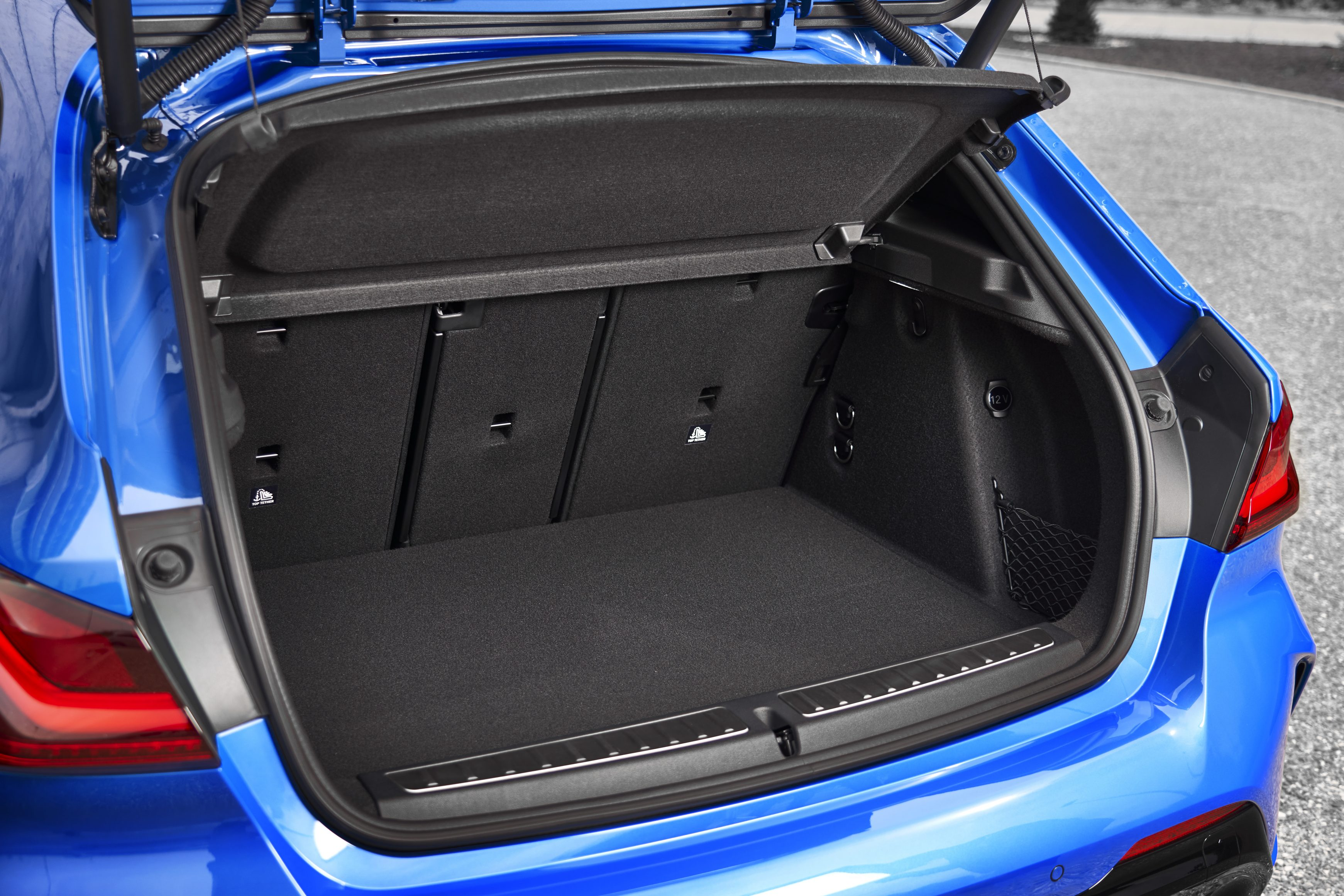 The all new BMW 1 Series boot space