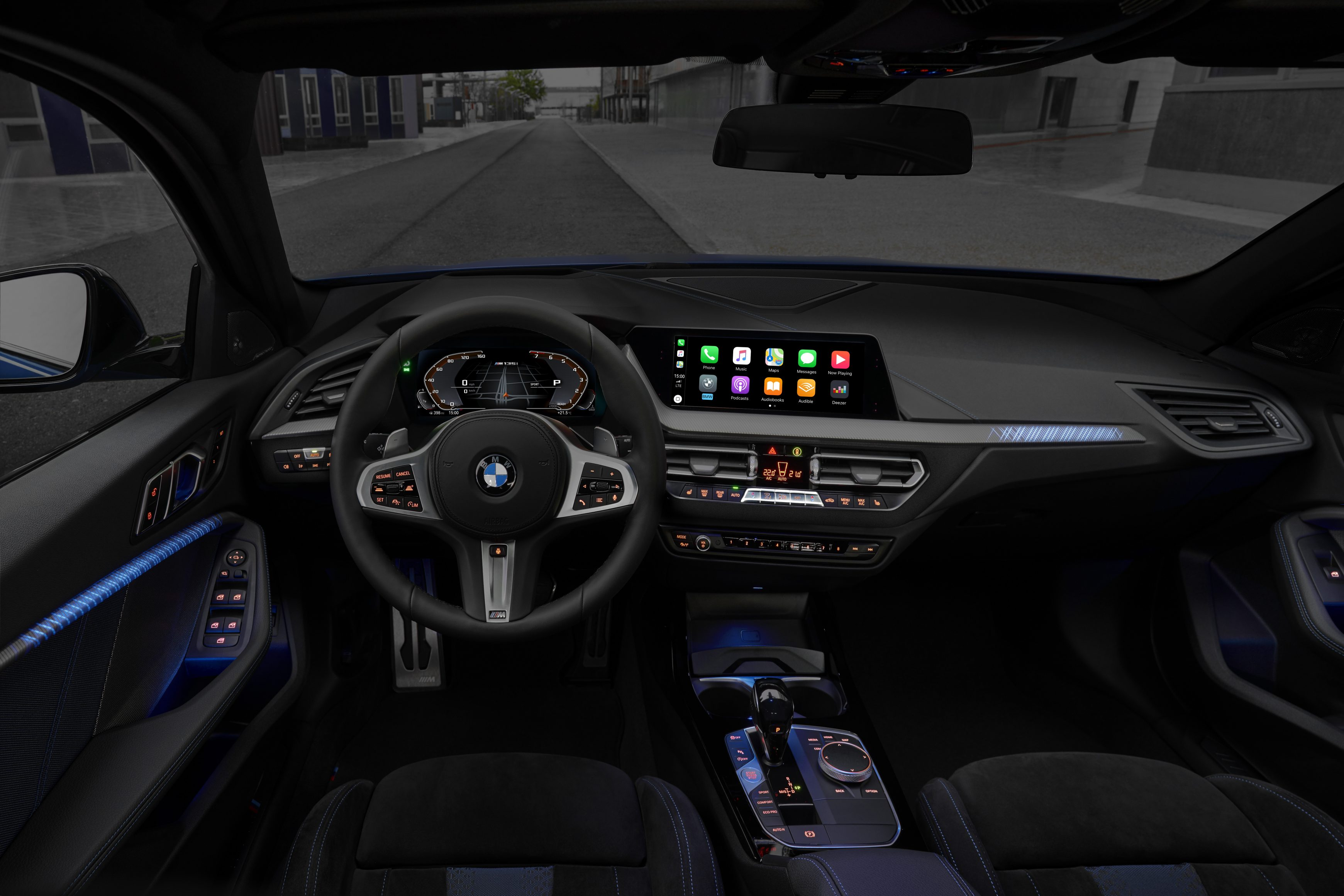 The all new BMW 1 Series infotainment system