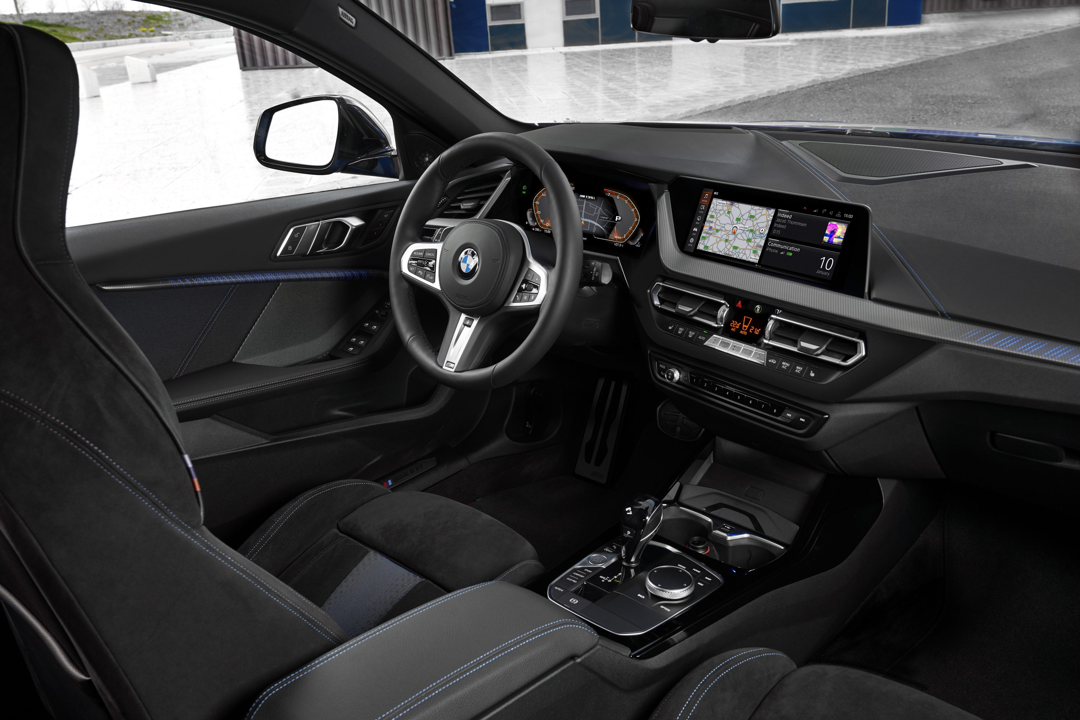 The all new BMW 1 Series cabin