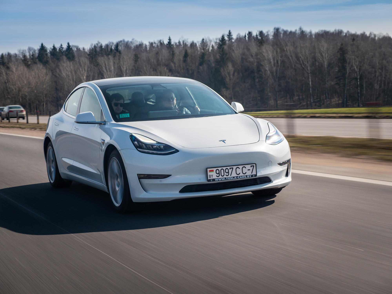 New Tesla Model 3 Performance