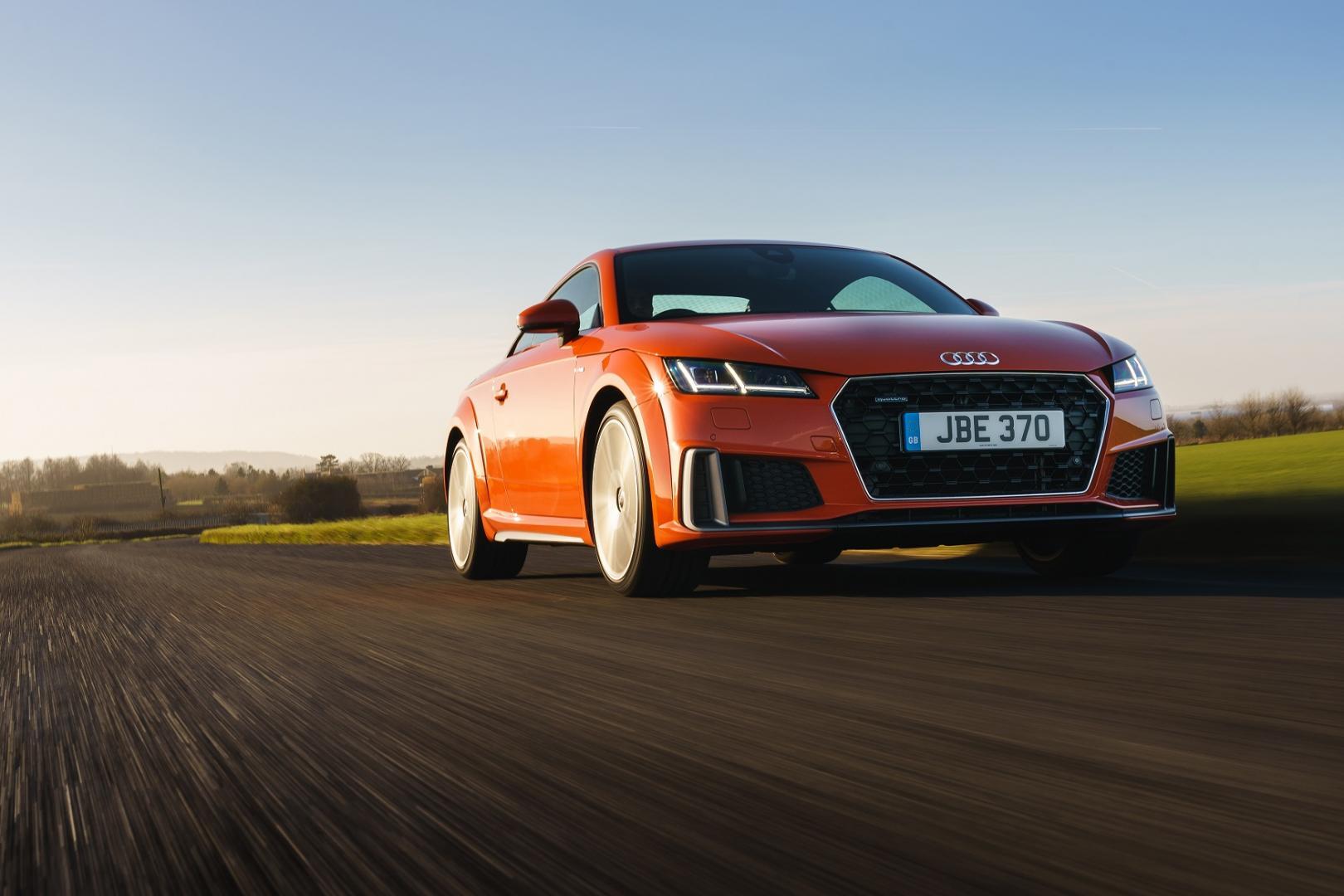 Brand-new Audi TT