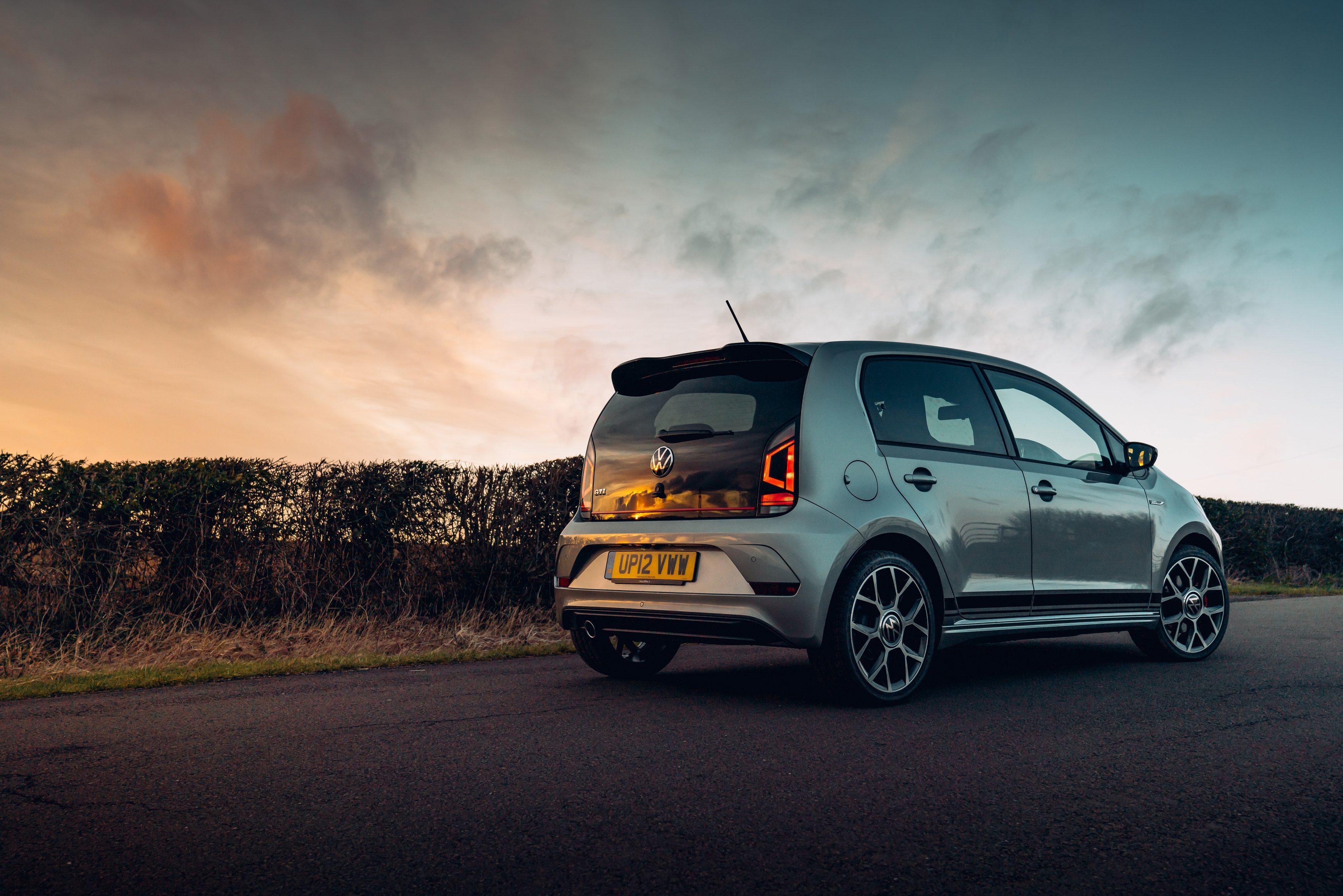 Best city cars UK - Volkswagen up! GTI rear-side shot