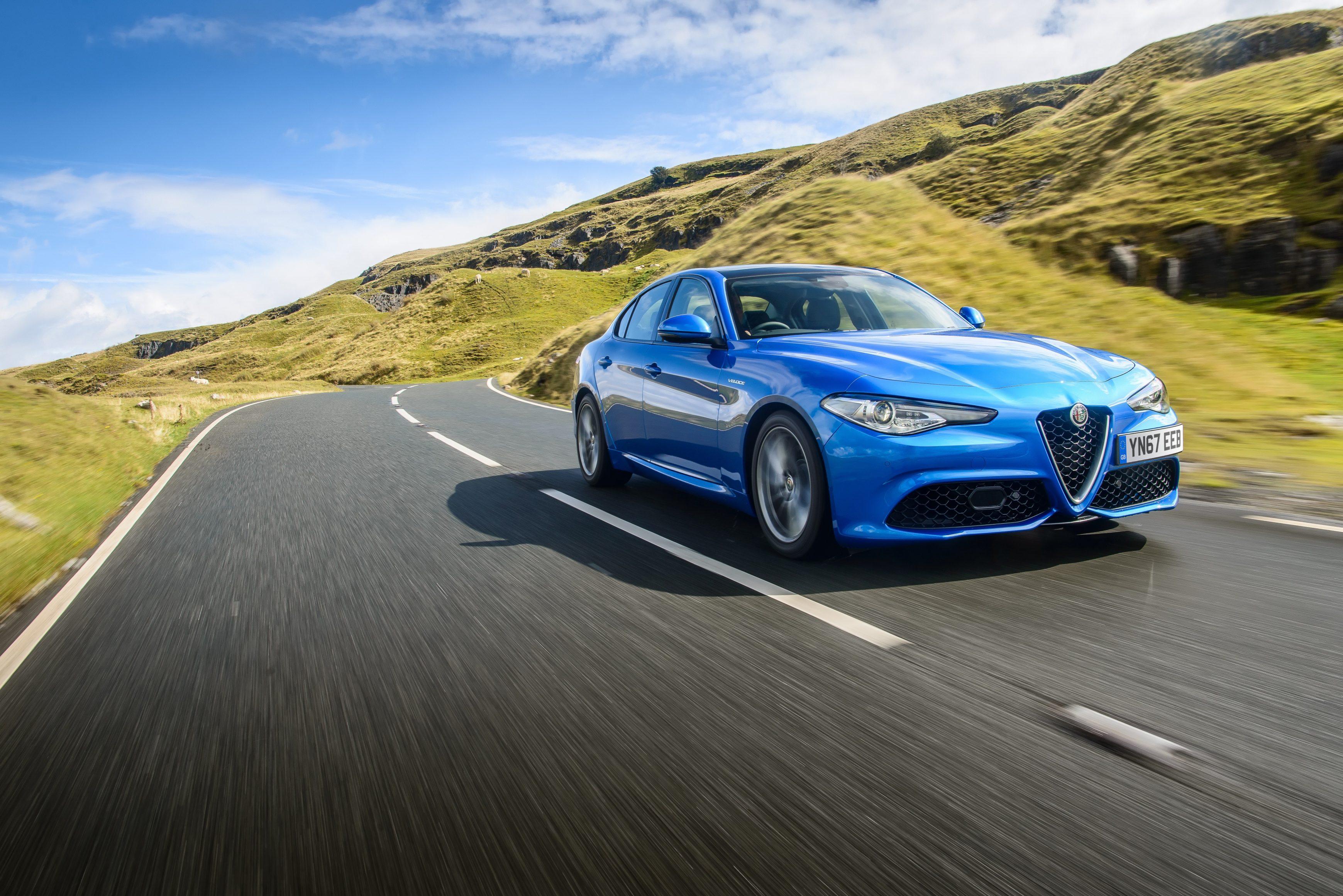 Best executive cars - Alfa Romeo Giulia
