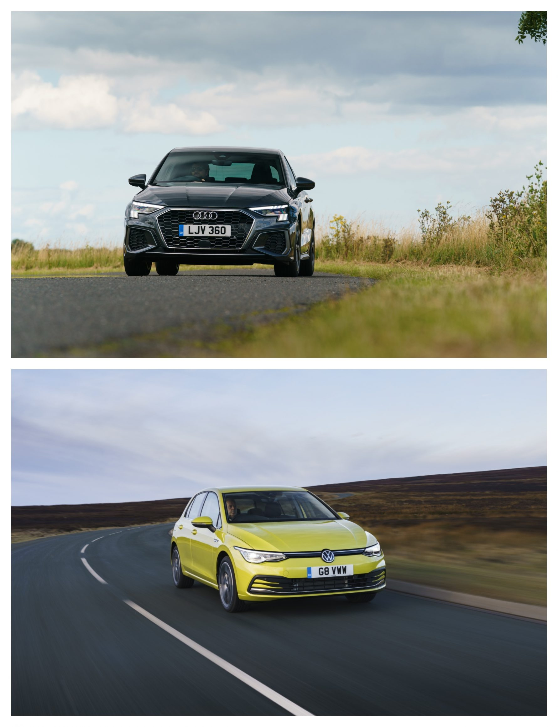 Audi A3 Vs Volkswagen Golf - performance on the road