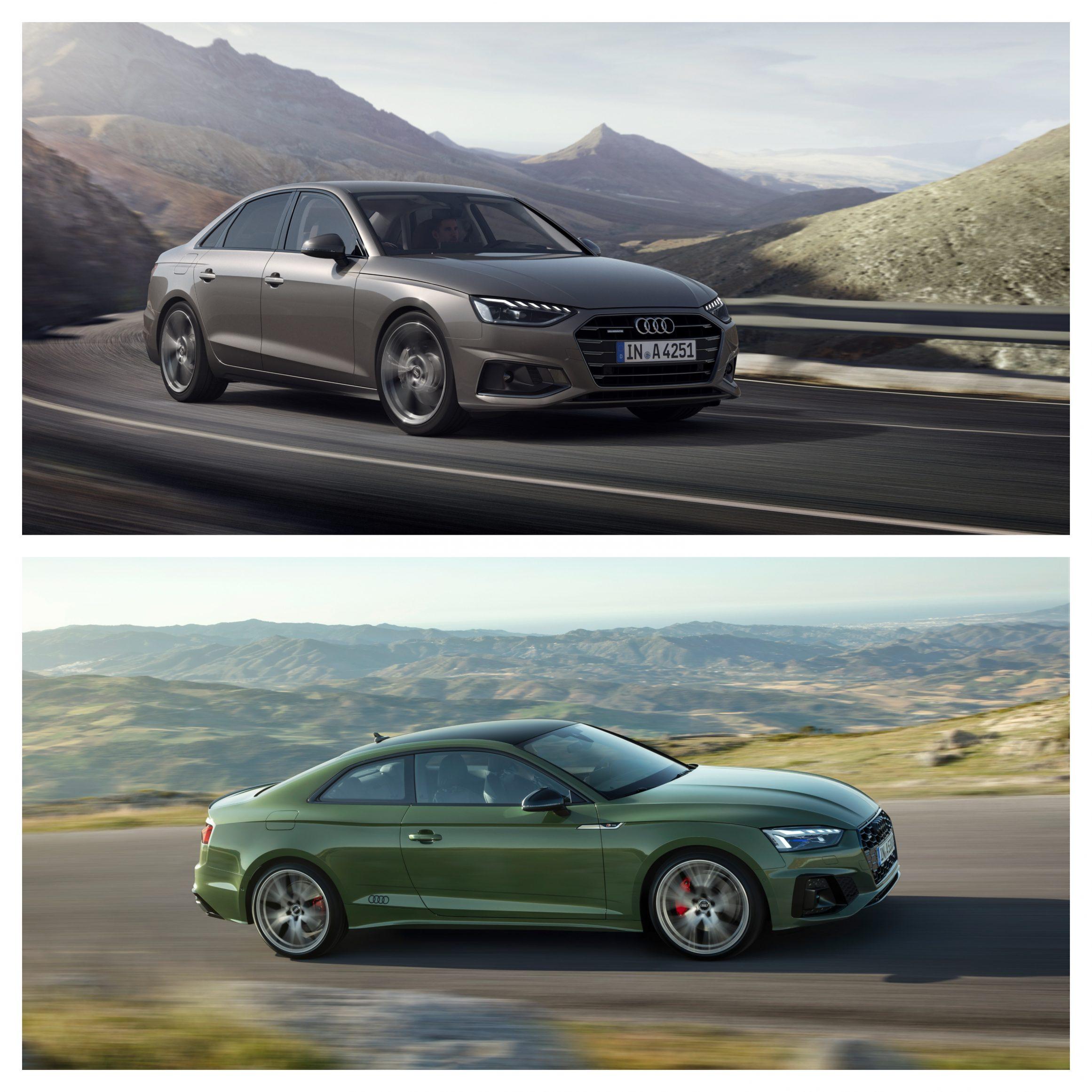 Audi A4 Vs Audi A5 - exterior design