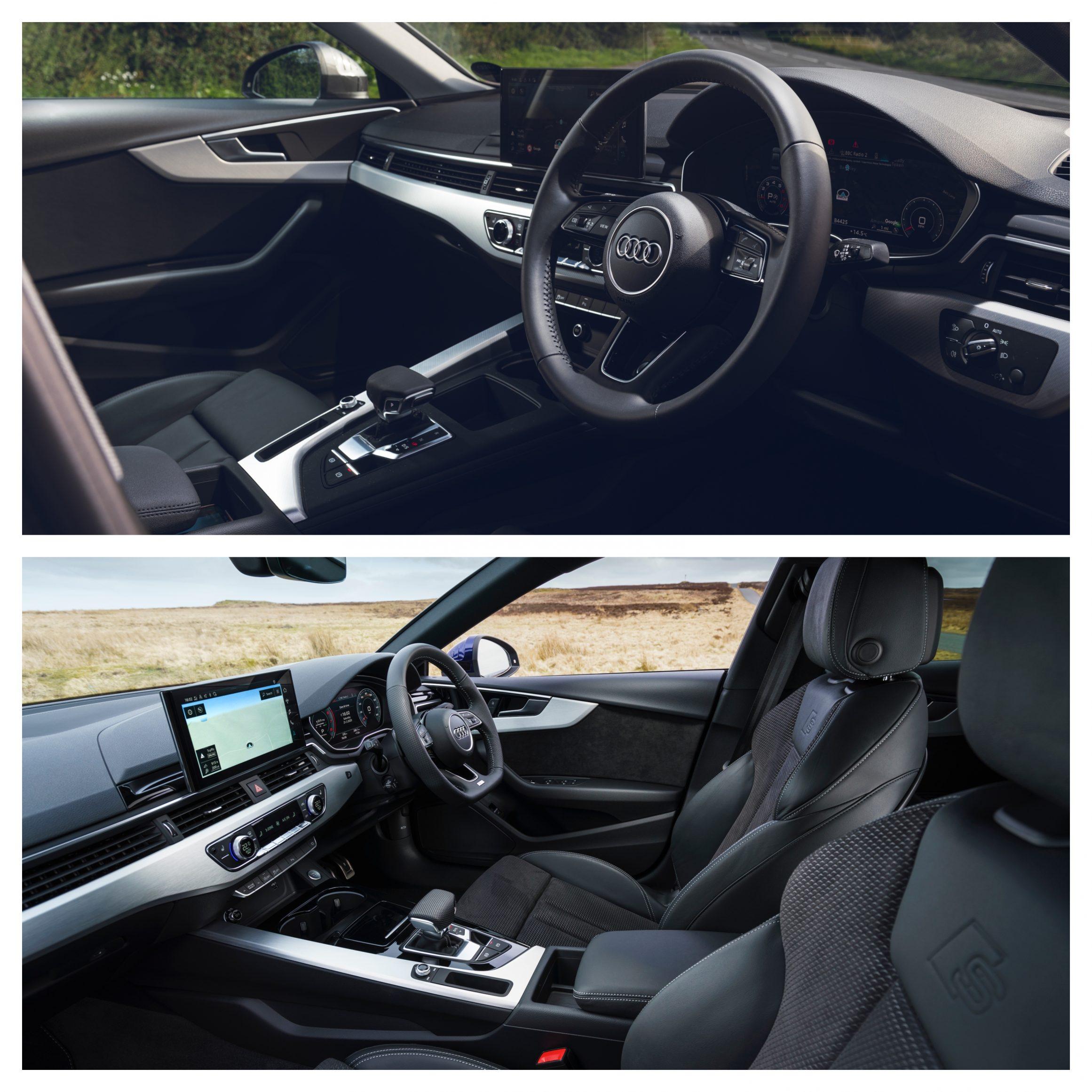 Audi A4 Vs Audi A5 - interior design