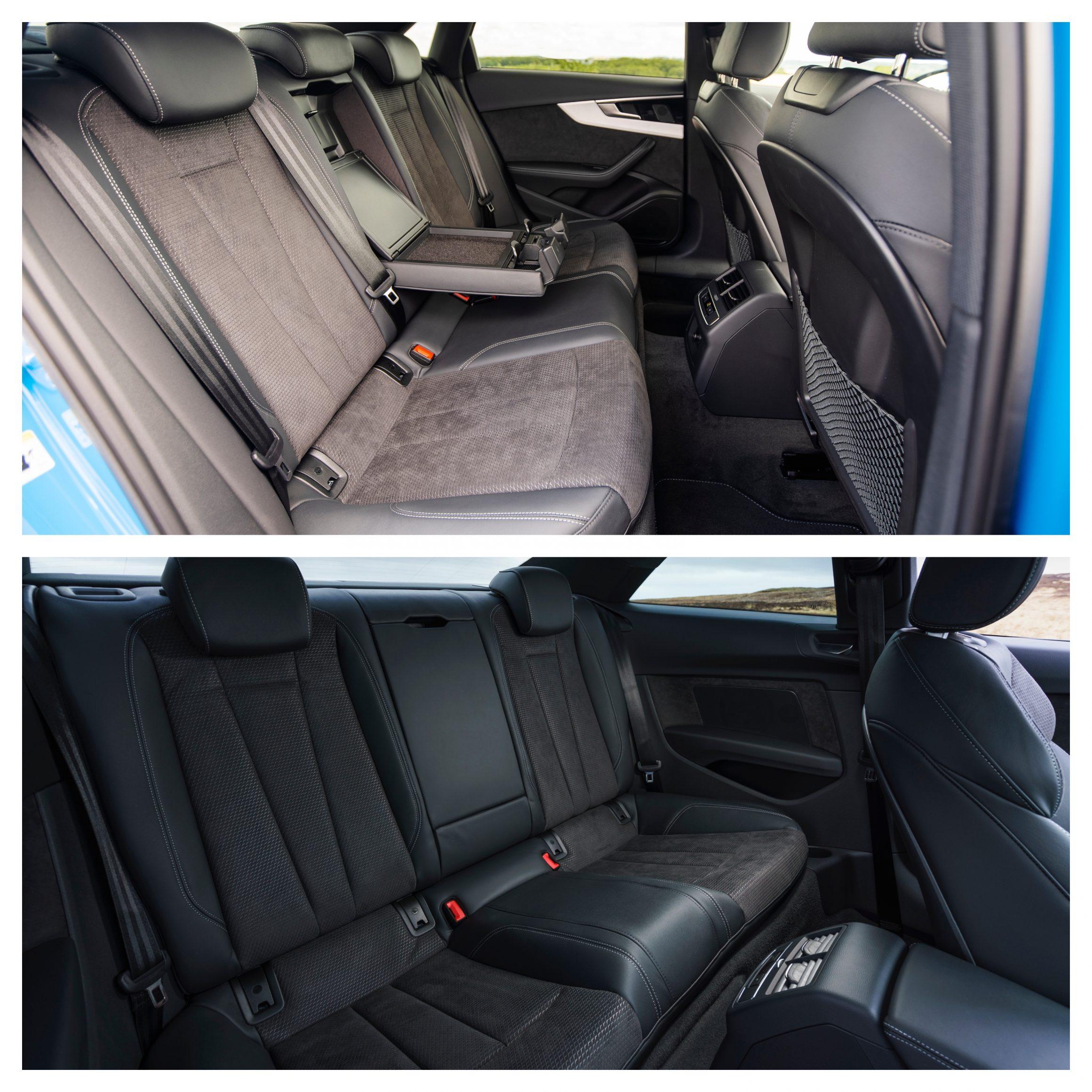 Audi A4 Vs Audi A5 - interior space