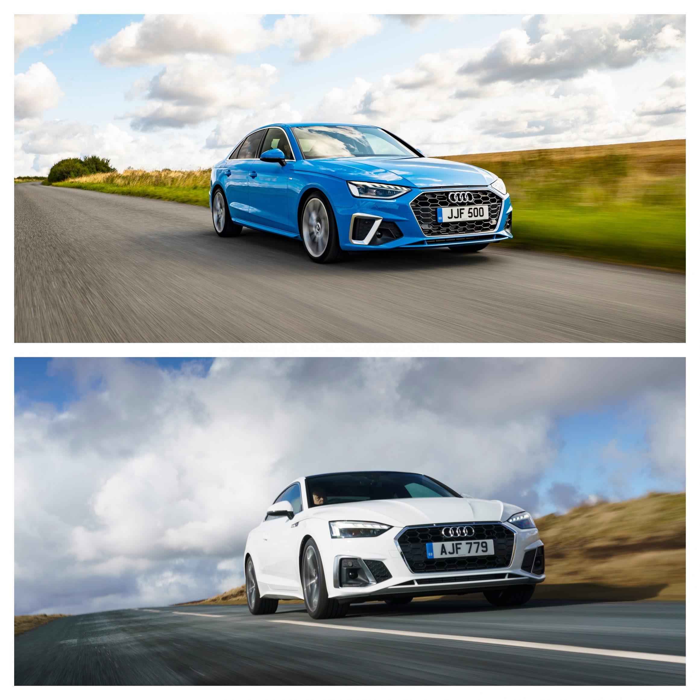 Audi A4 Vs Audi A5 - performance