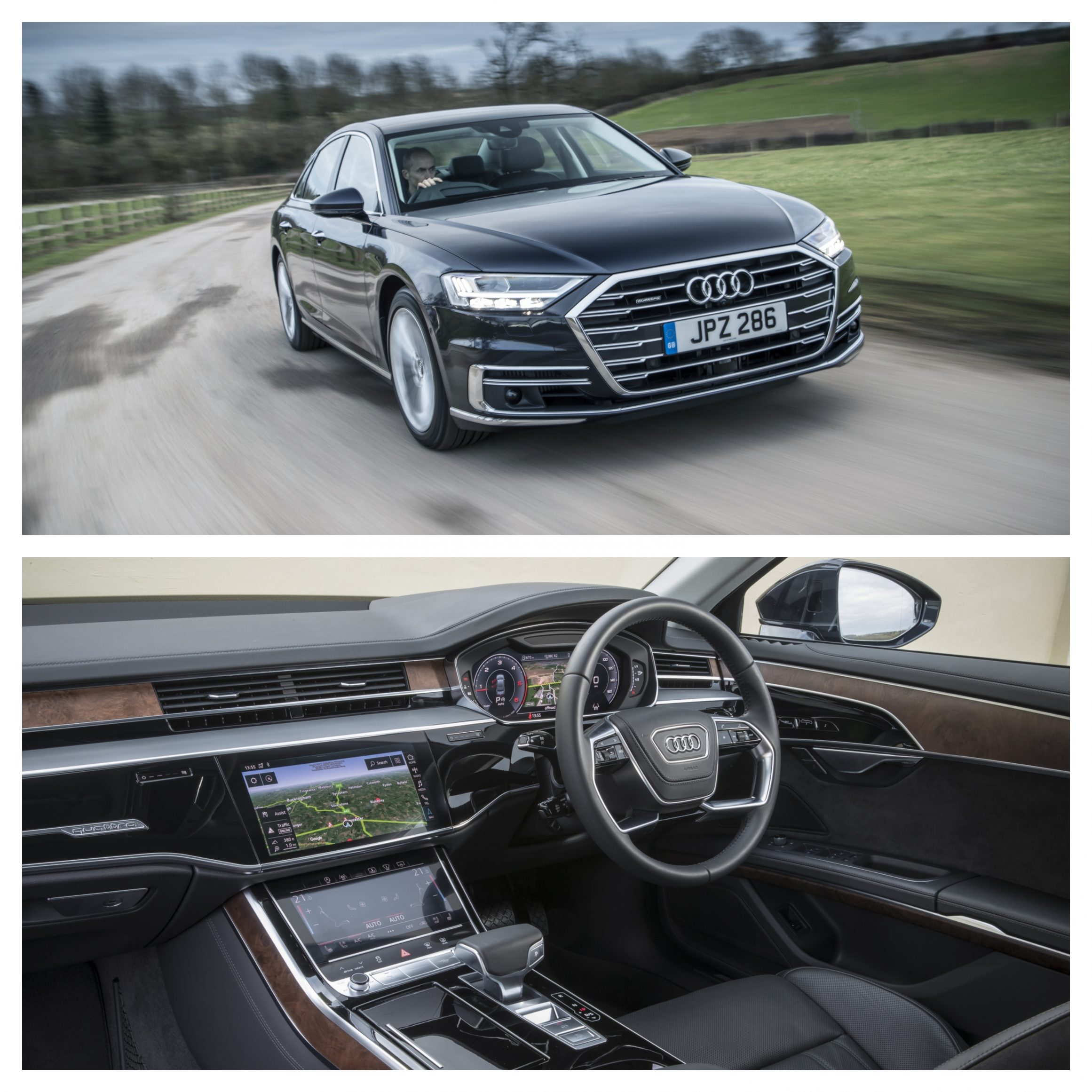Audi A8 - best automatic cars 2021