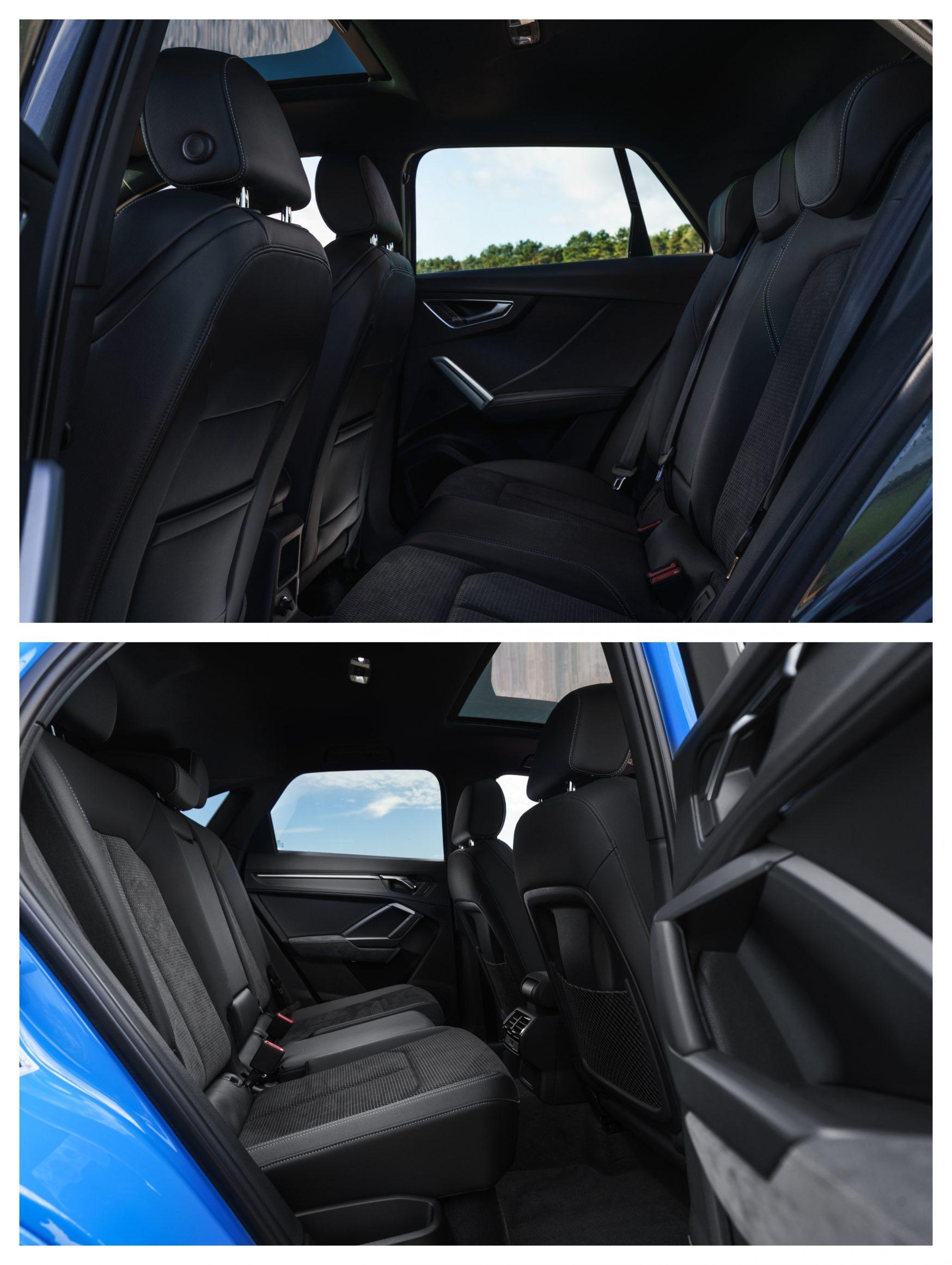 Audi Q2 Vs Audi Q3 - interior space