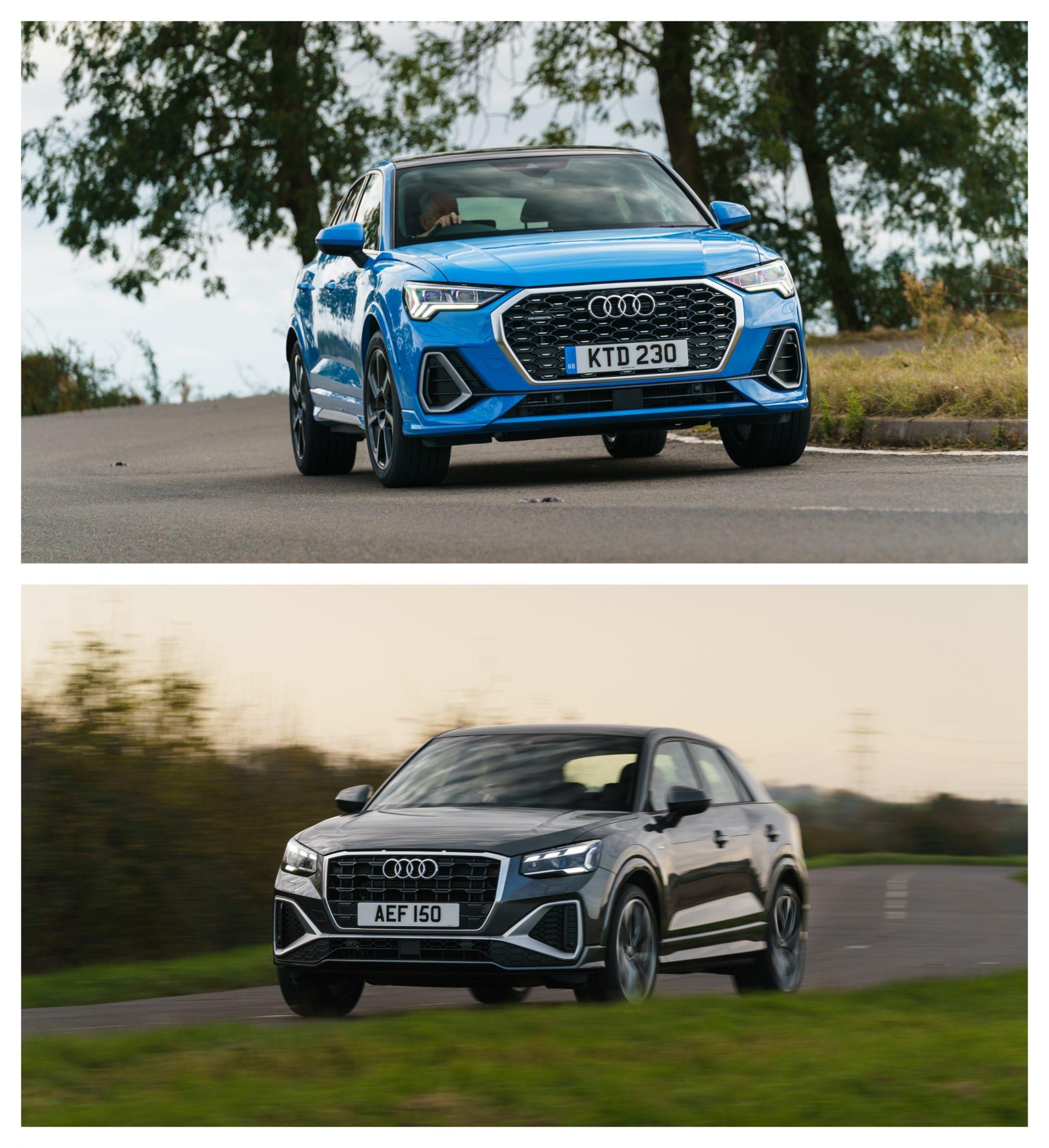 Audi Q2 Vs Audi Q3 - performance and price