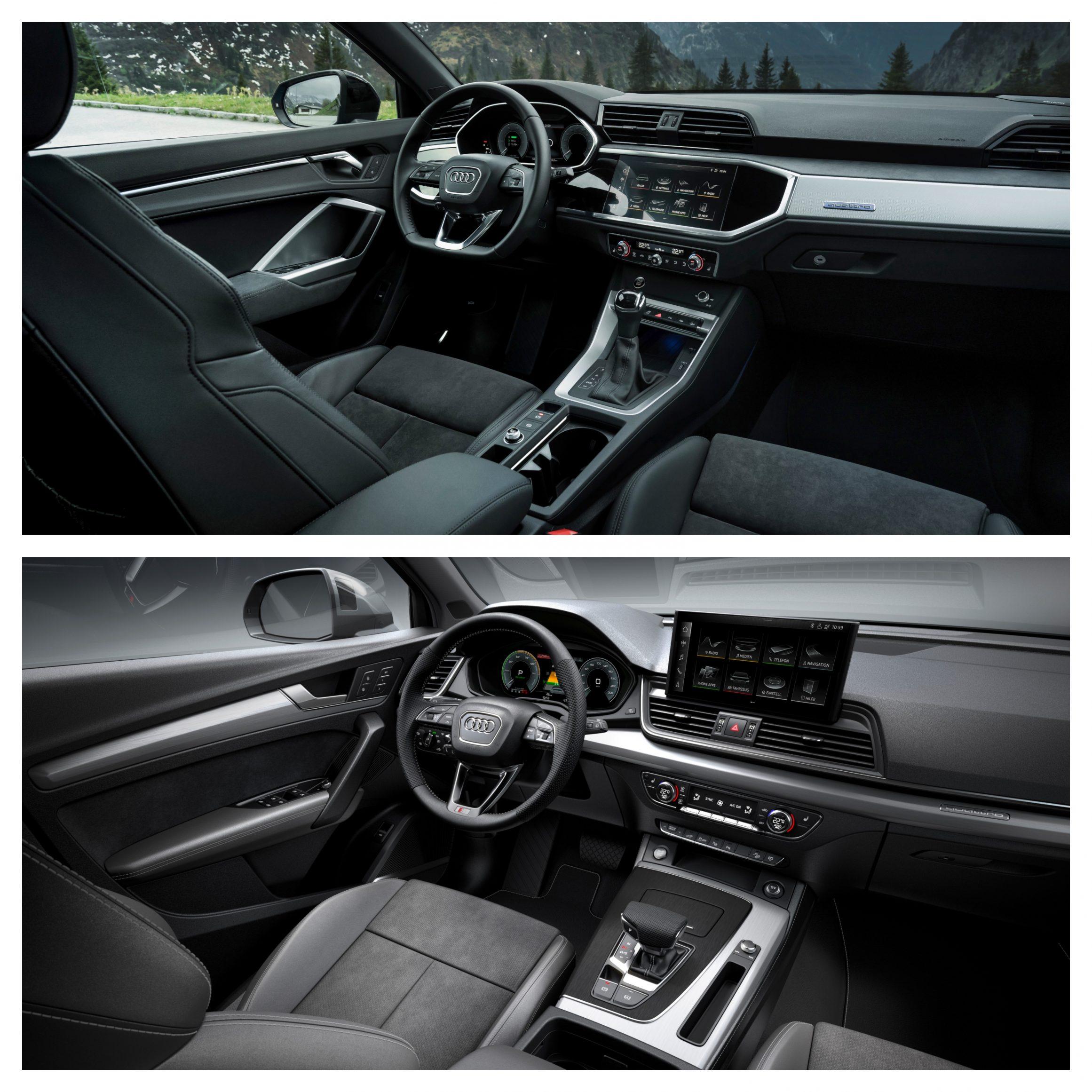 Audii Q3 Vs Q5 - interior comfort and design