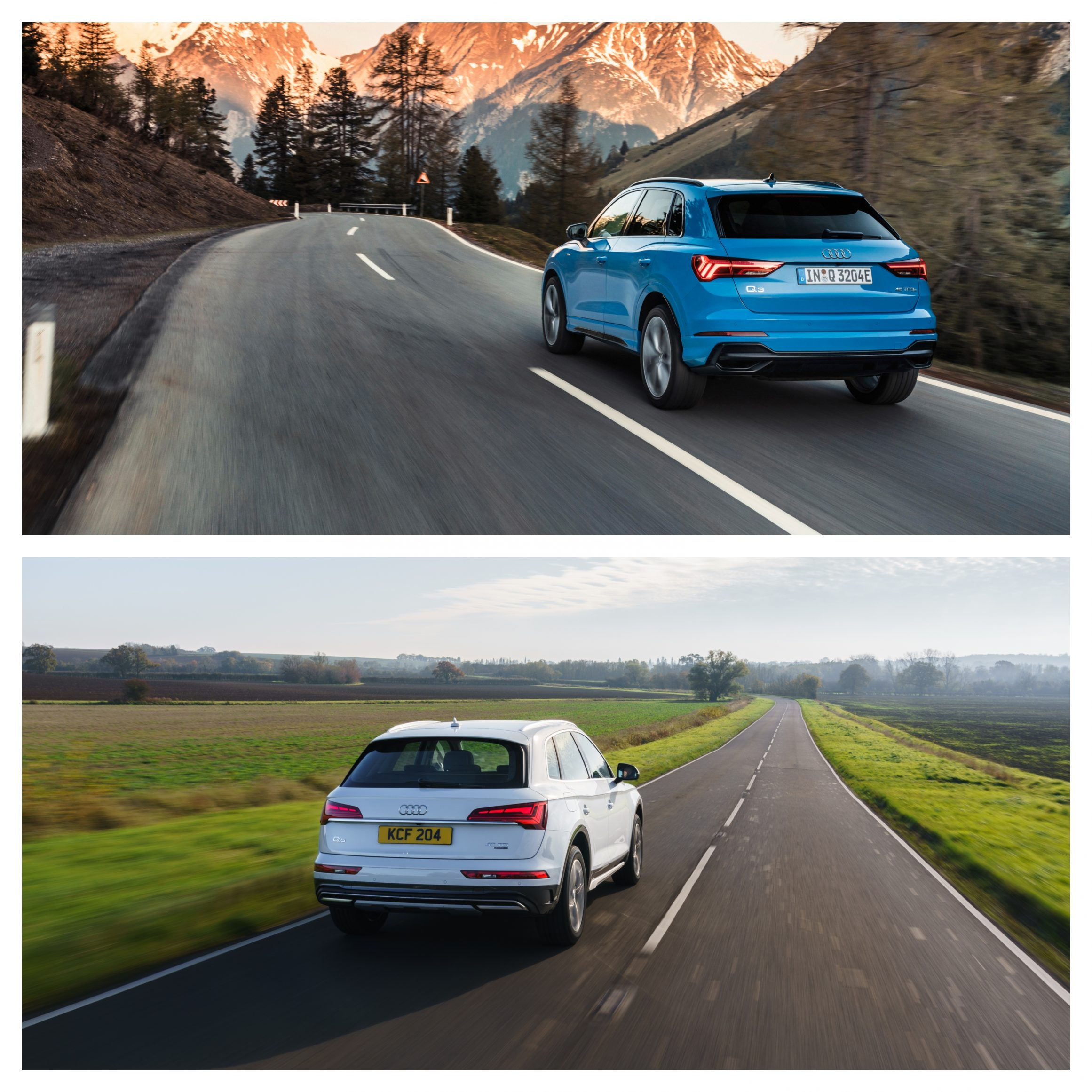 Audii Q3 Vs Q5 - on the road performance and price