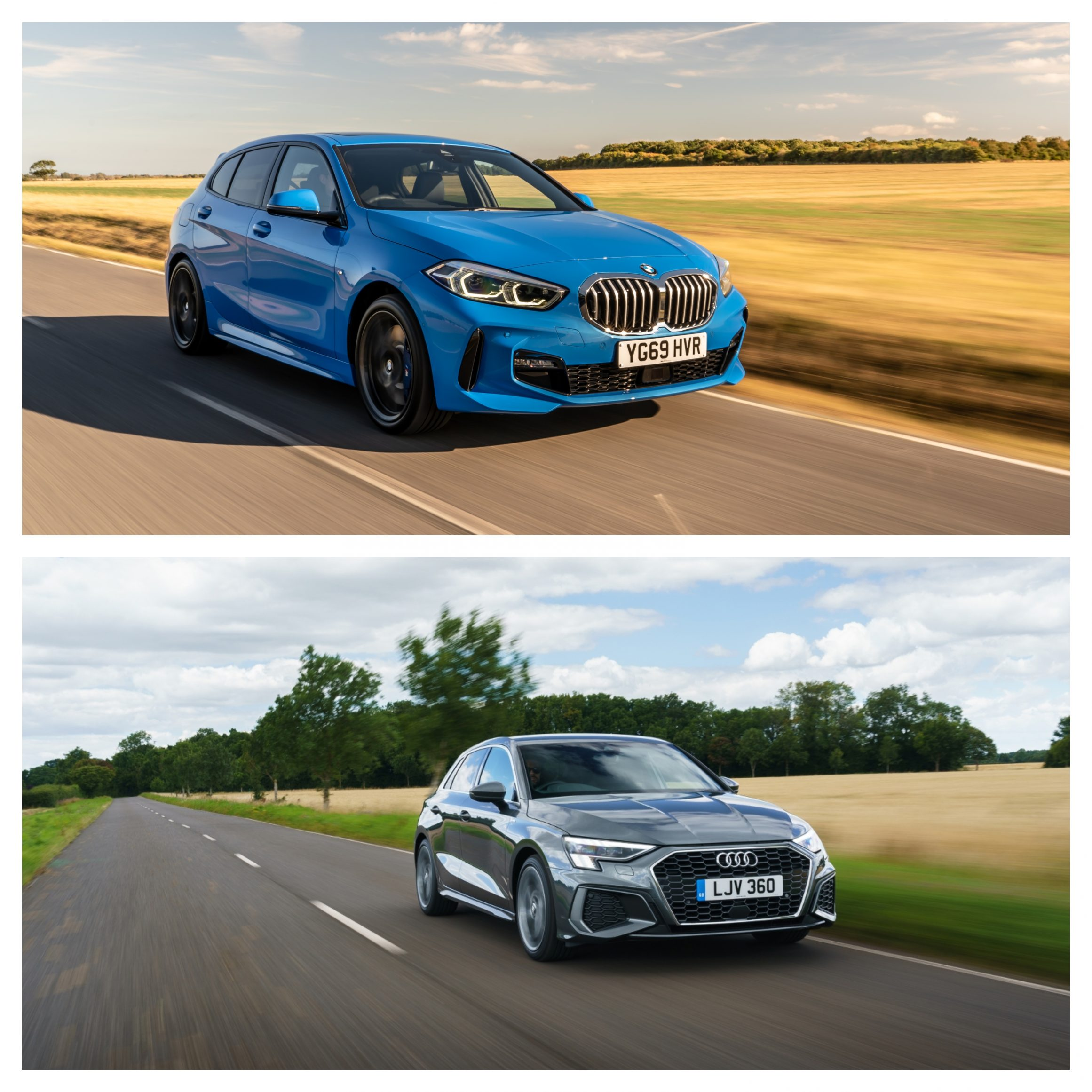 BMW 1 Series Vs Audi A3 - driving and price