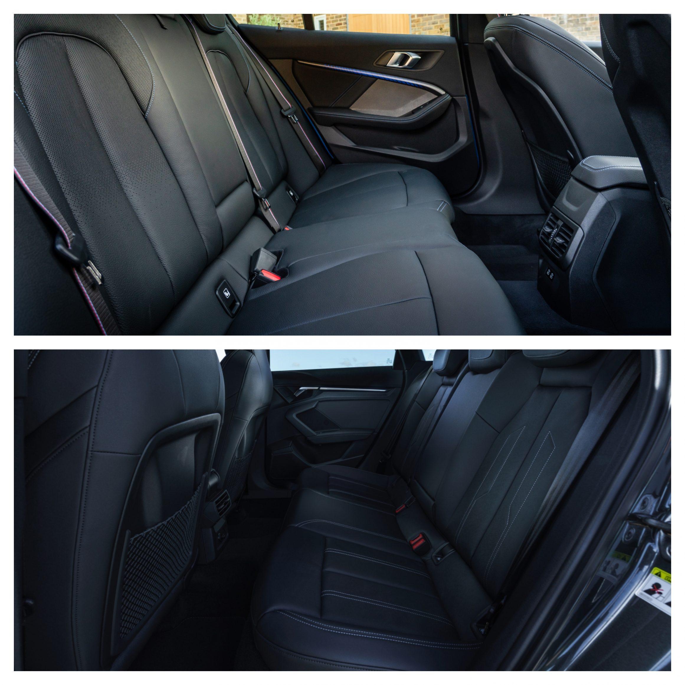 BMW 1 Series Vs Audi A3 - interior space