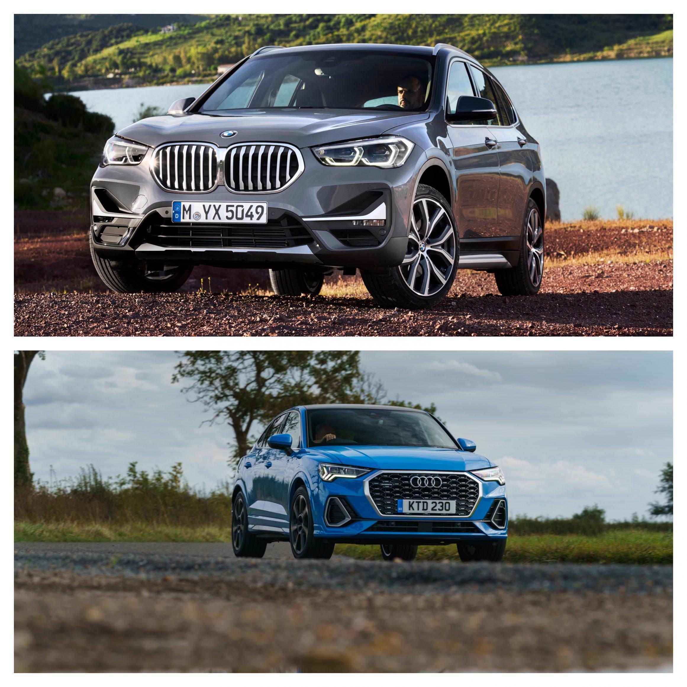 BMW X1 Vs Audi Q3 - exterior design