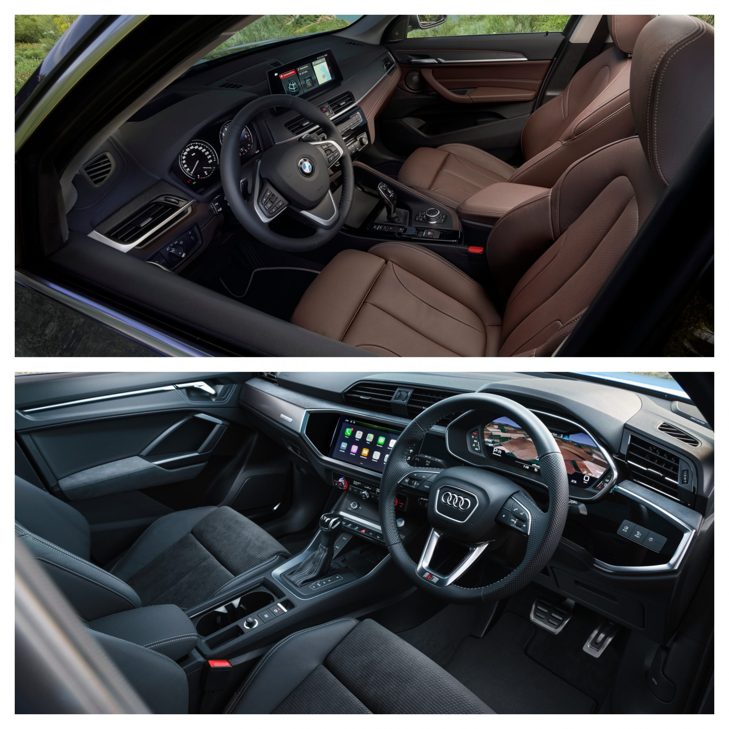 BMW X1 Vs Audi Q3 - interior design and space