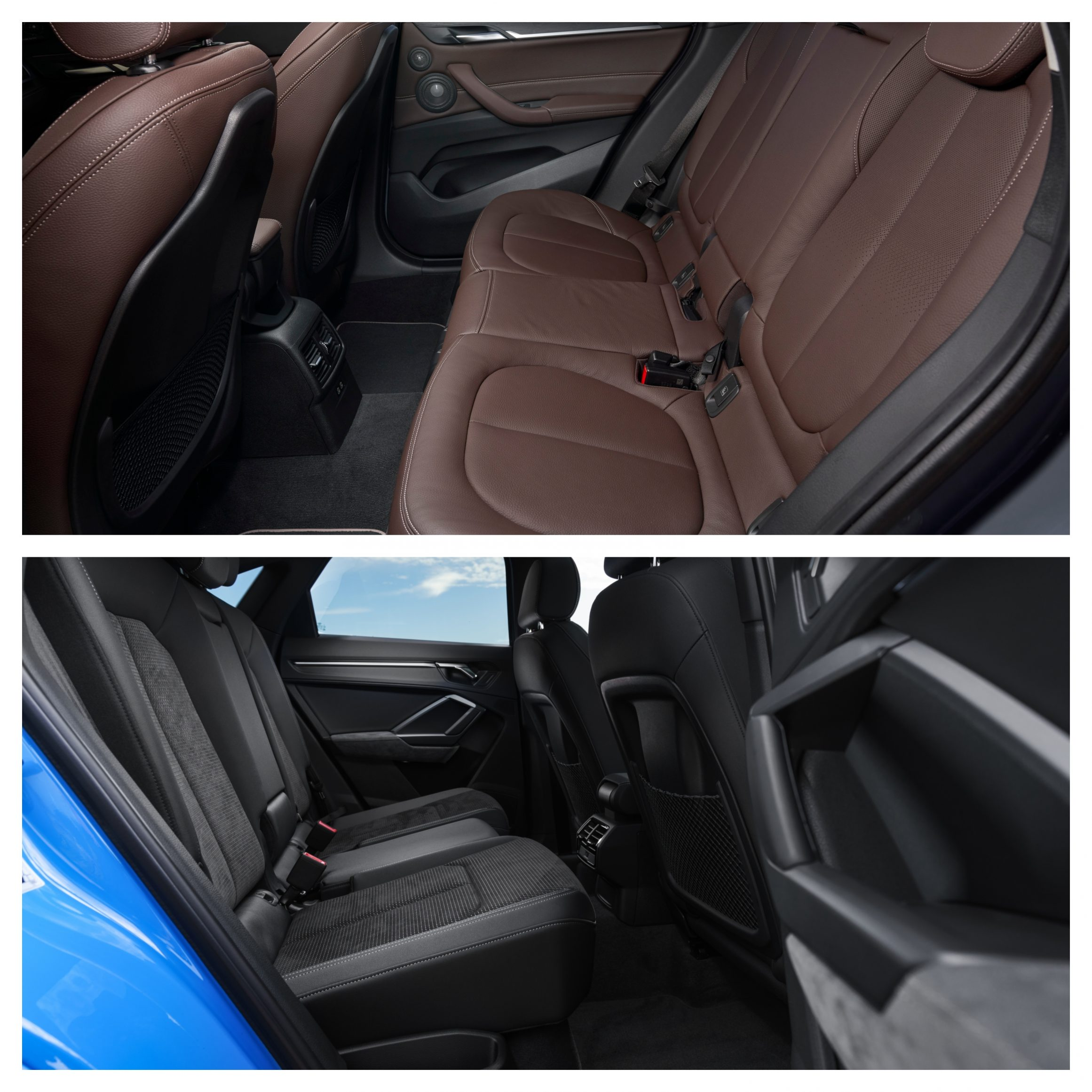 BMW X1 Vs Audi Q3 - interior space