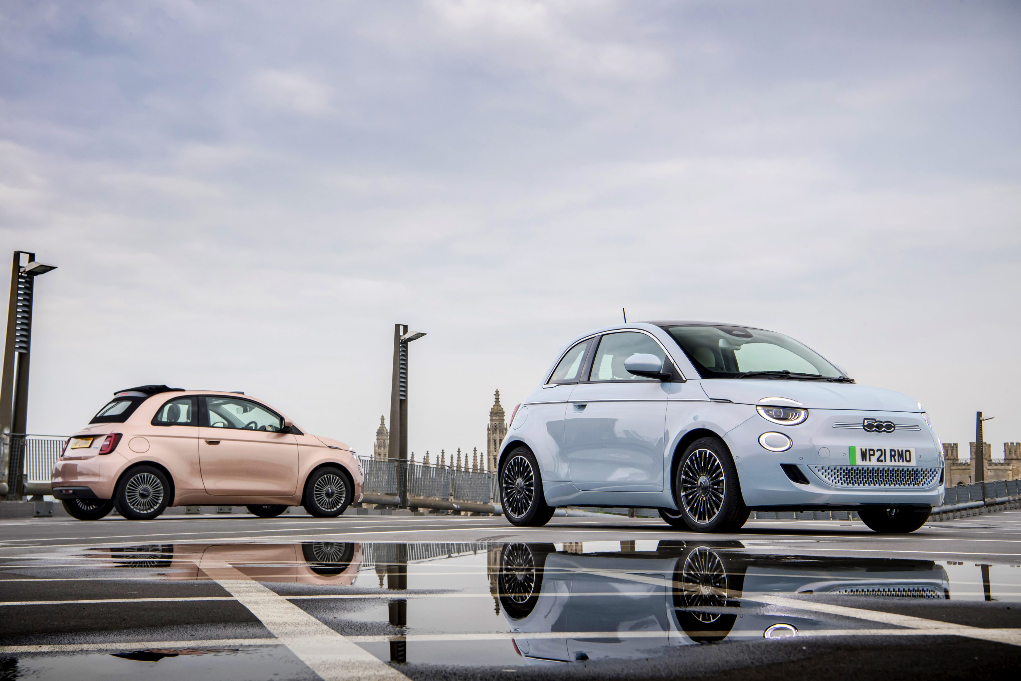 Best city cars - Fiat 500 electric and Cabrio
