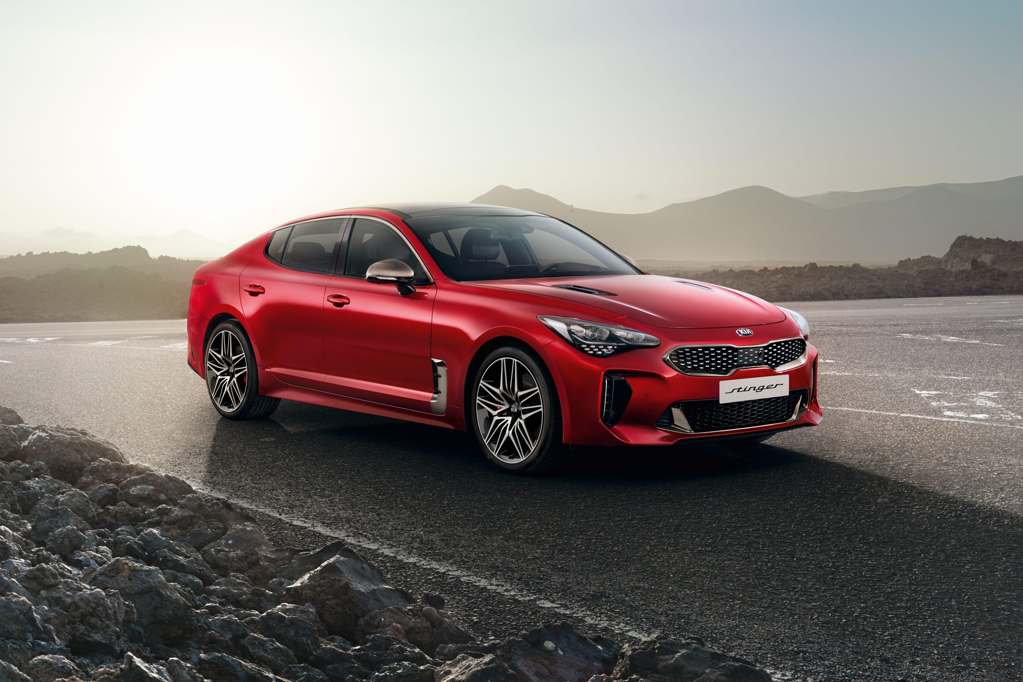 Best affordable sports cars 2021 - Kia Stinger