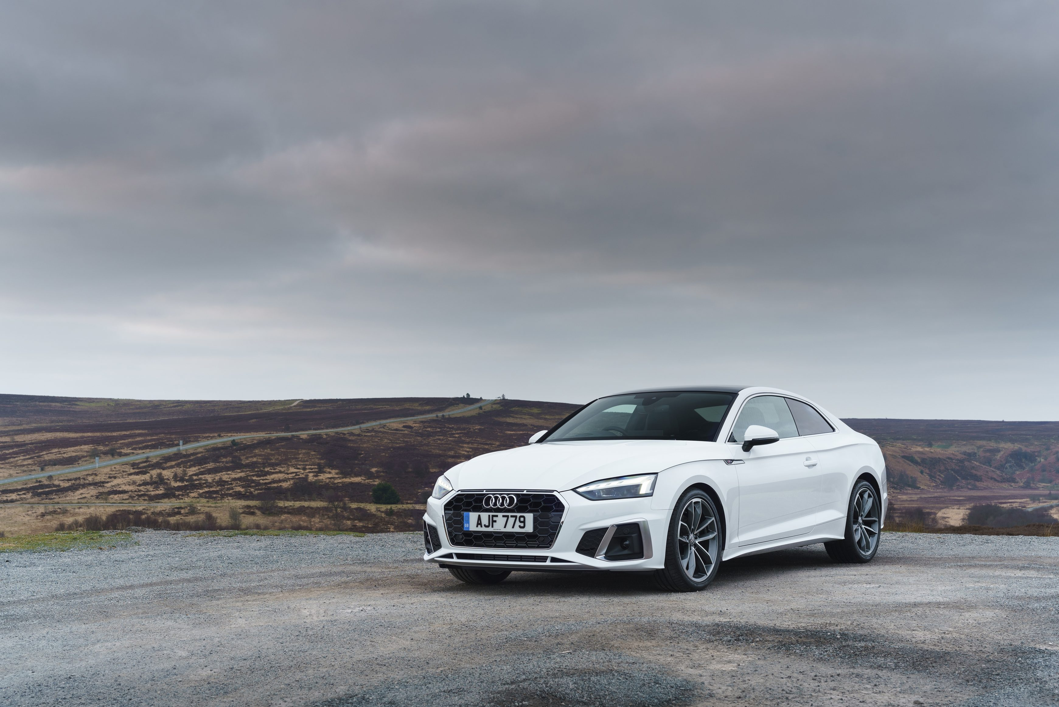 Brand-new Audi A5