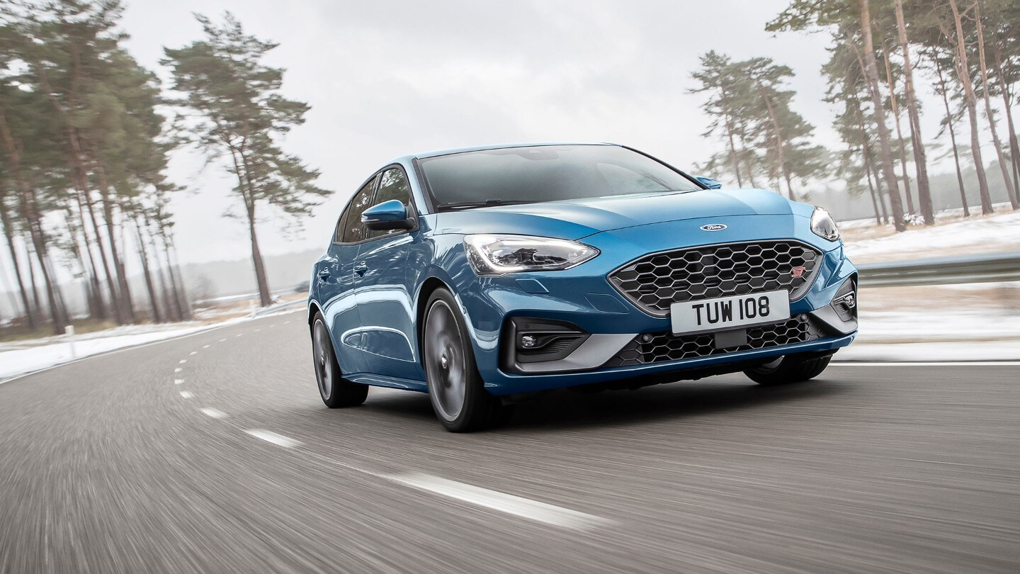 Brand-new Ford Focus ST