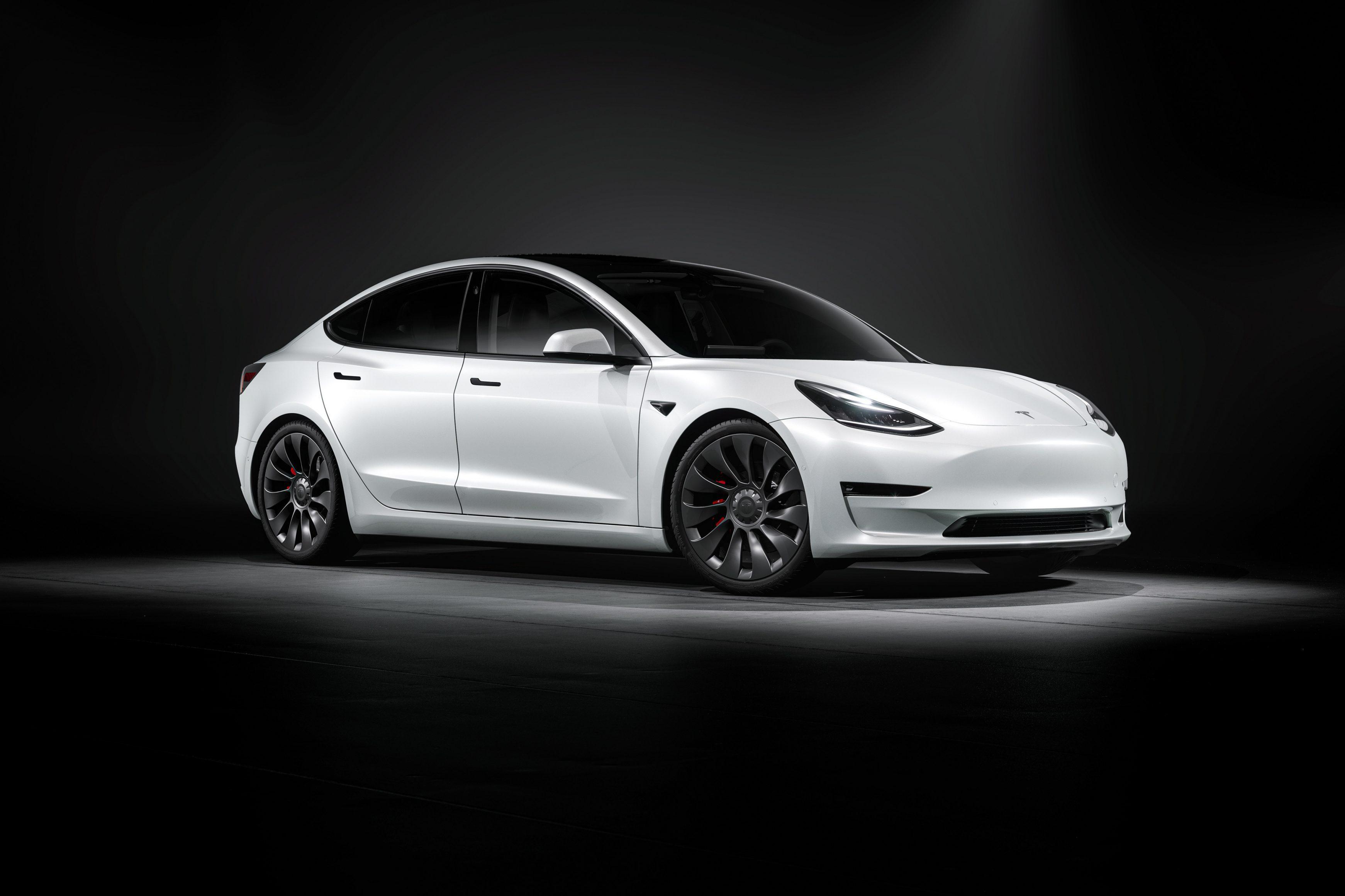 Most popular lease cars - Tesla Model 3
