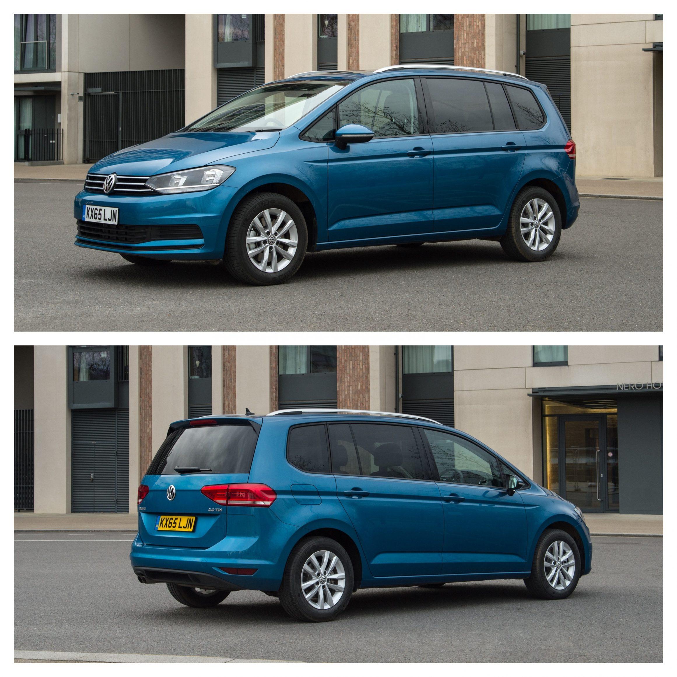 2021 Volkswagen Touran Review - exterior design