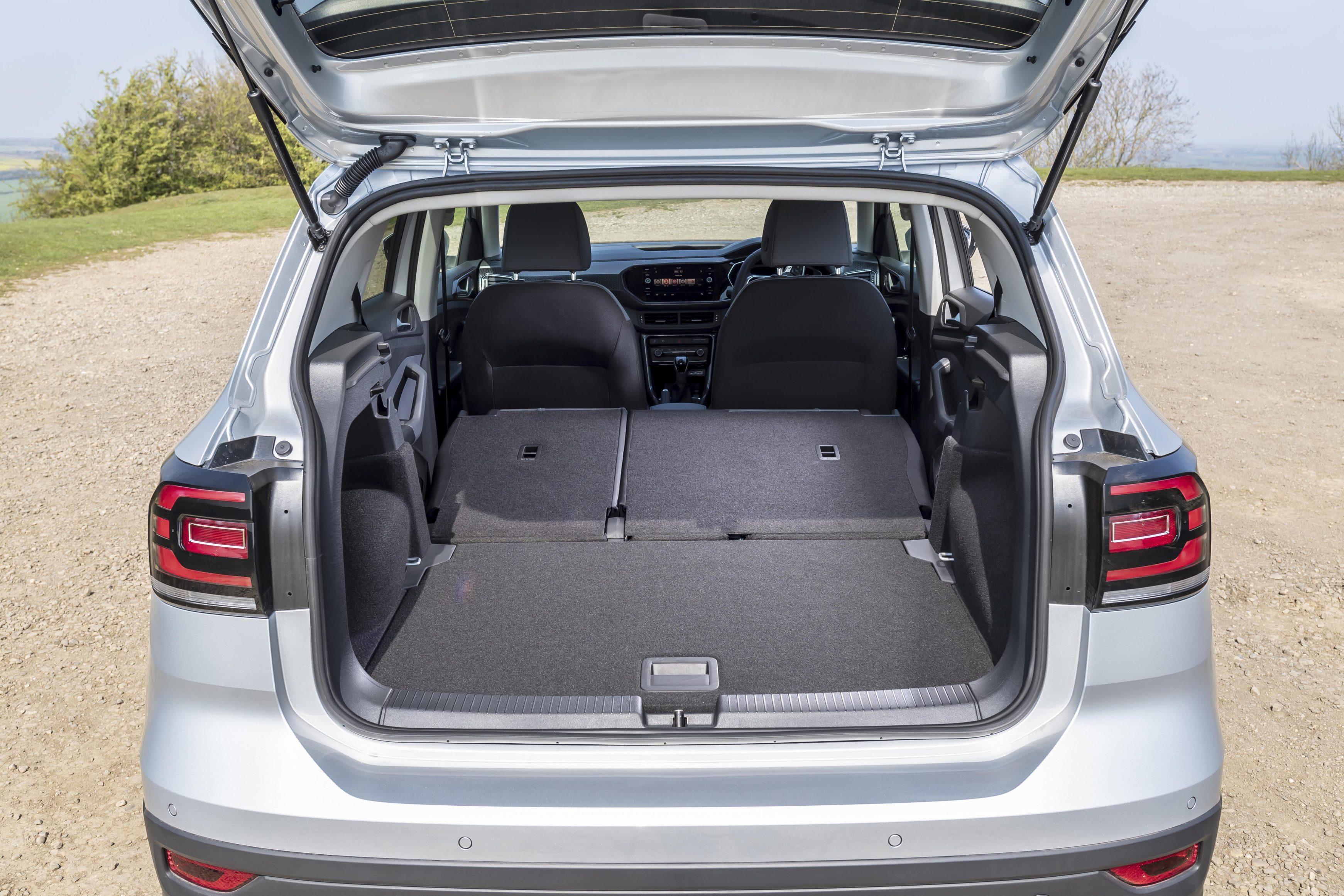 Volkswagen T-Cross boot space