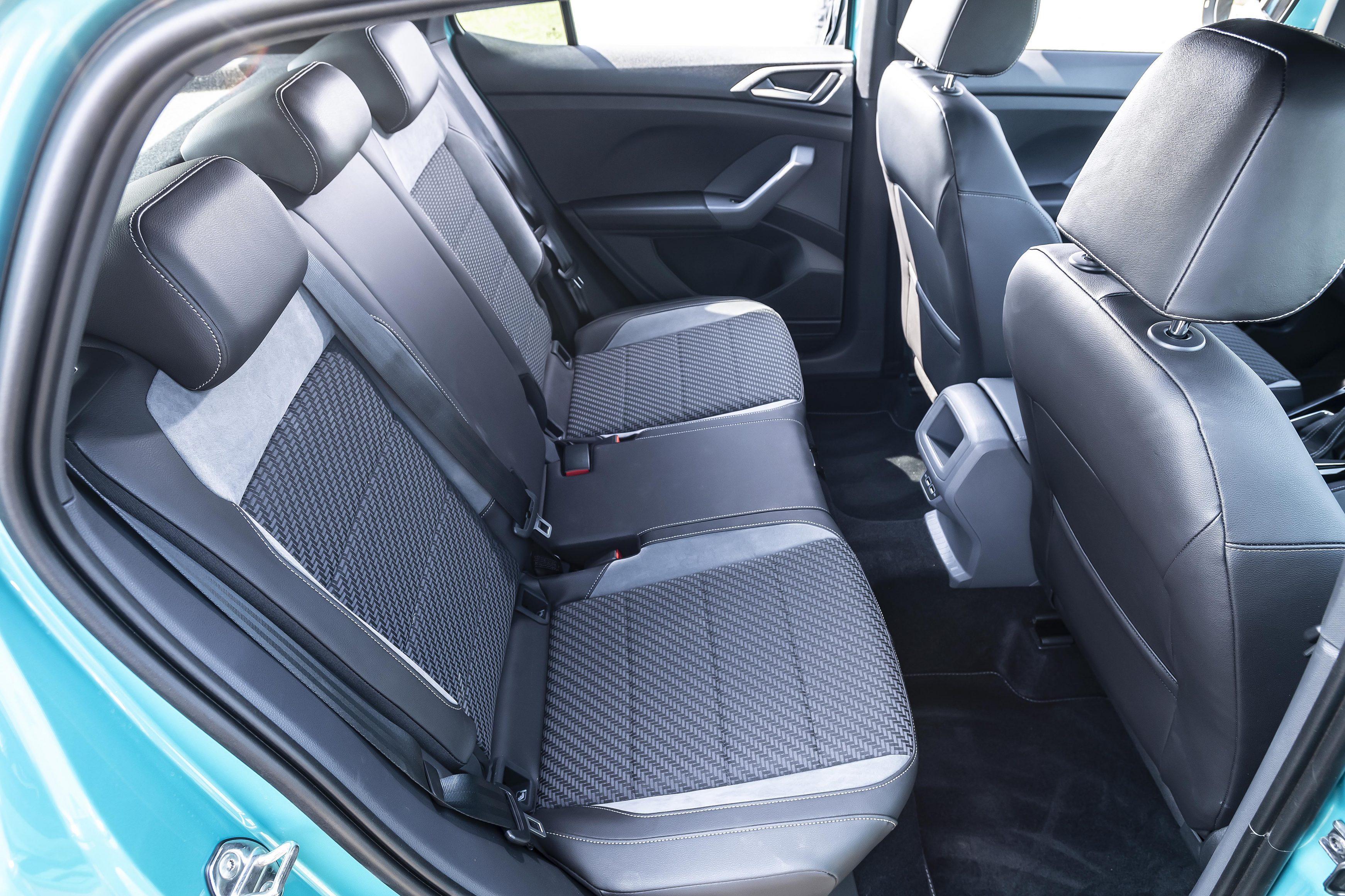 Volkswagen T-Cross back seats