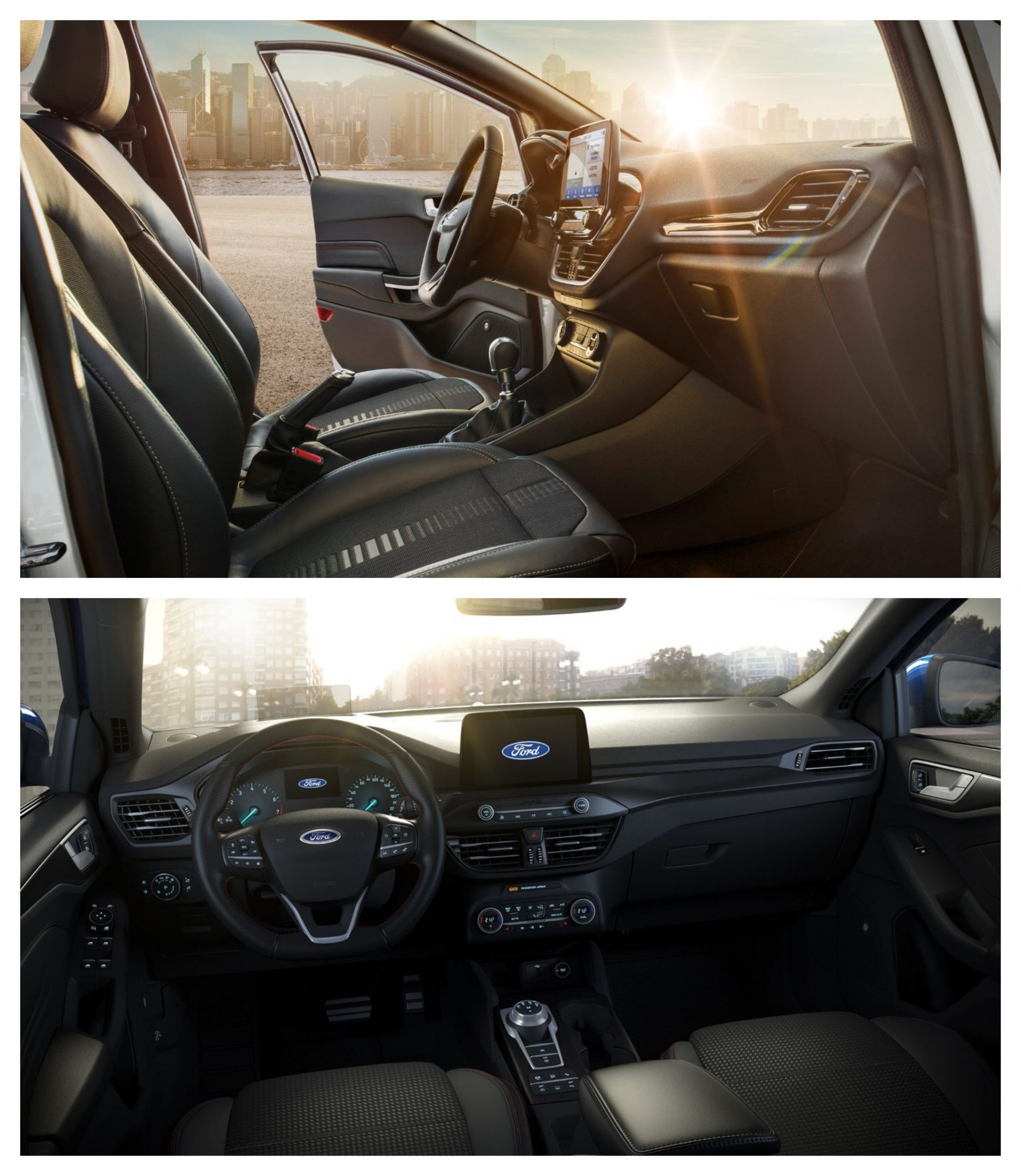 Ford Fiesta Vs Ford Focus - interior design and space