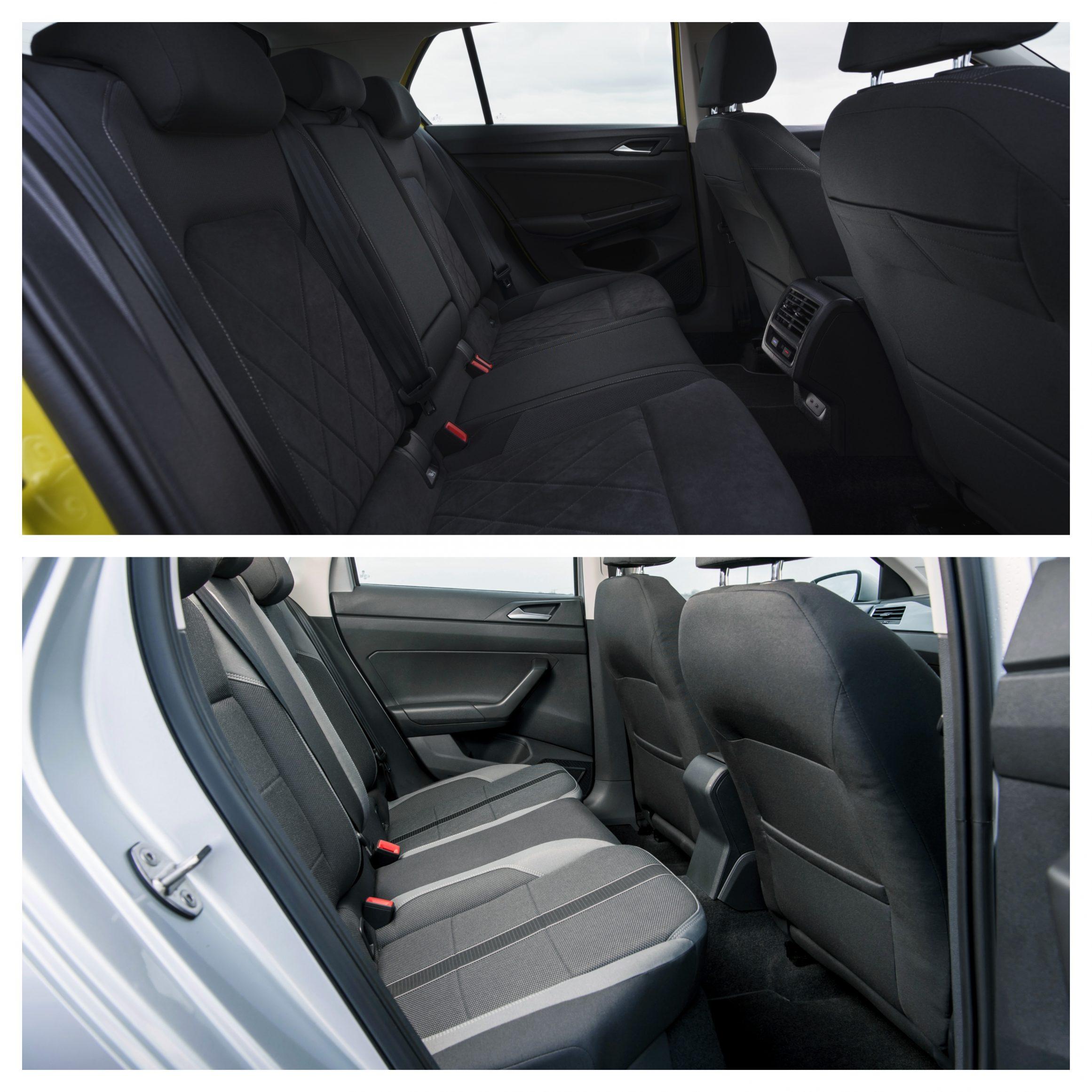 Golf Vs Polo - back seats
