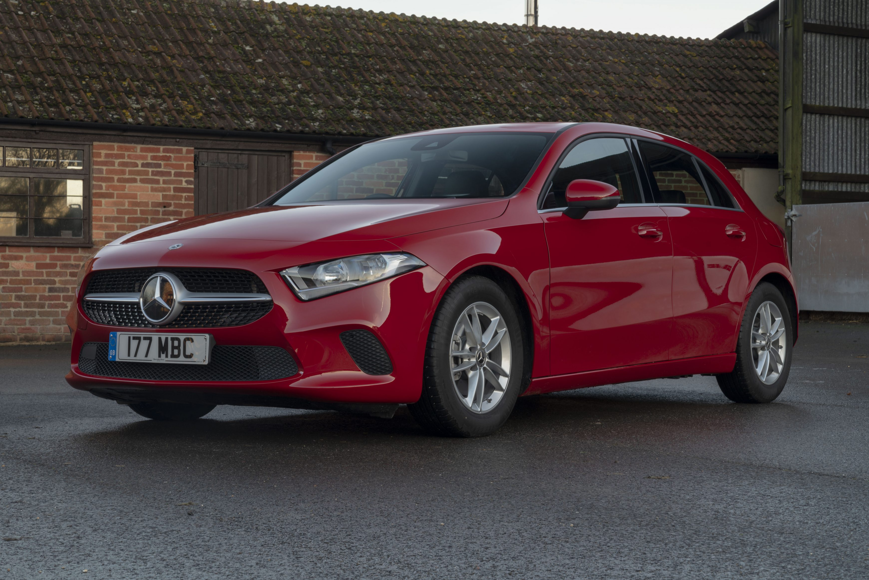 Most popular lease cars - A Class 180 SE Manuel 6 speed