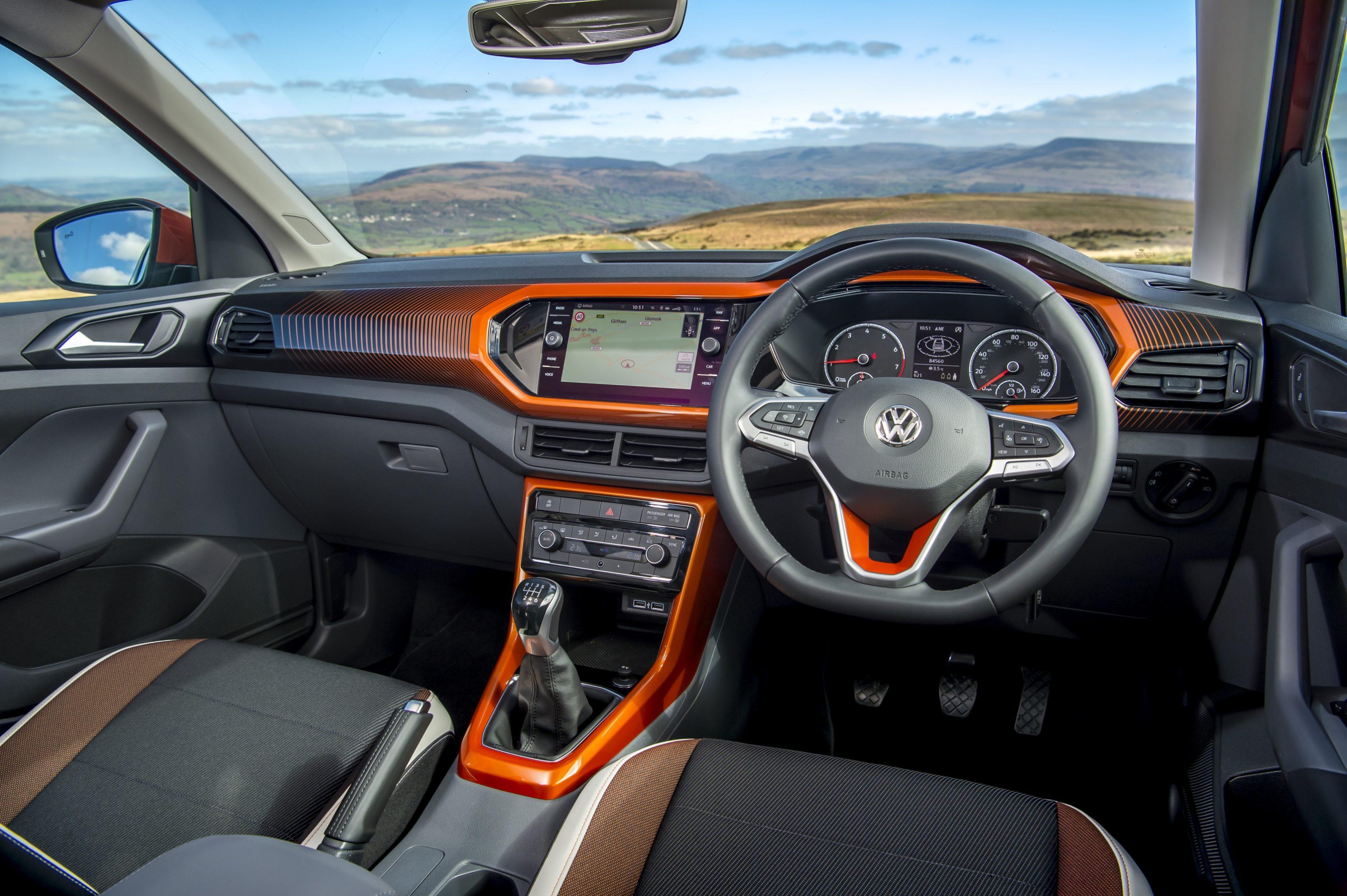 2021 Volkswagen T-Cross interior
