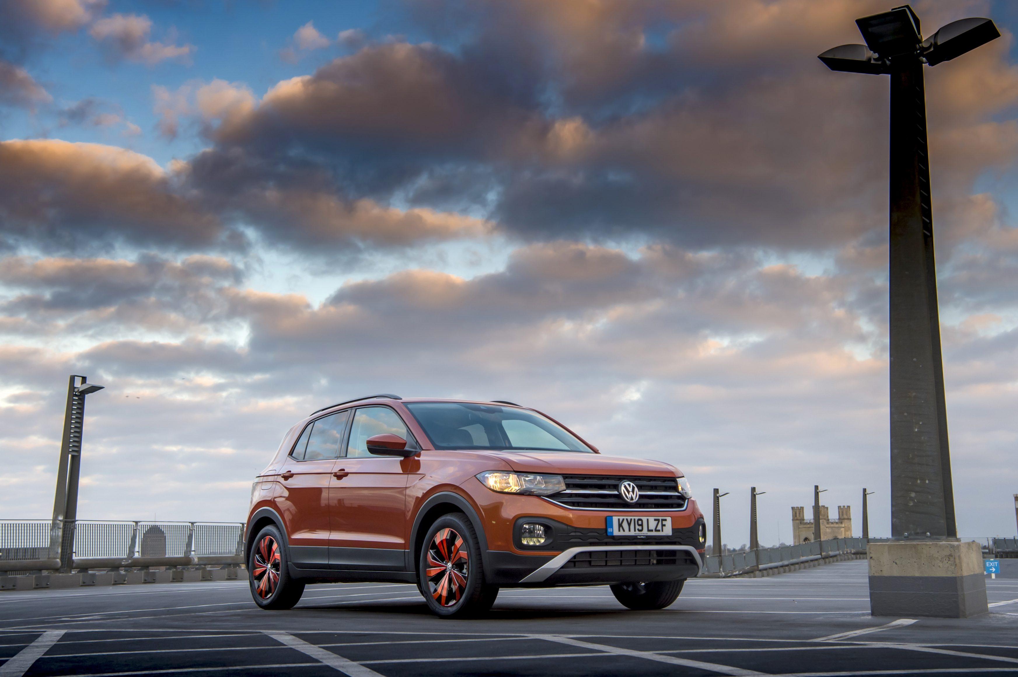 2021 Volkswagen T-Cross front side shot
