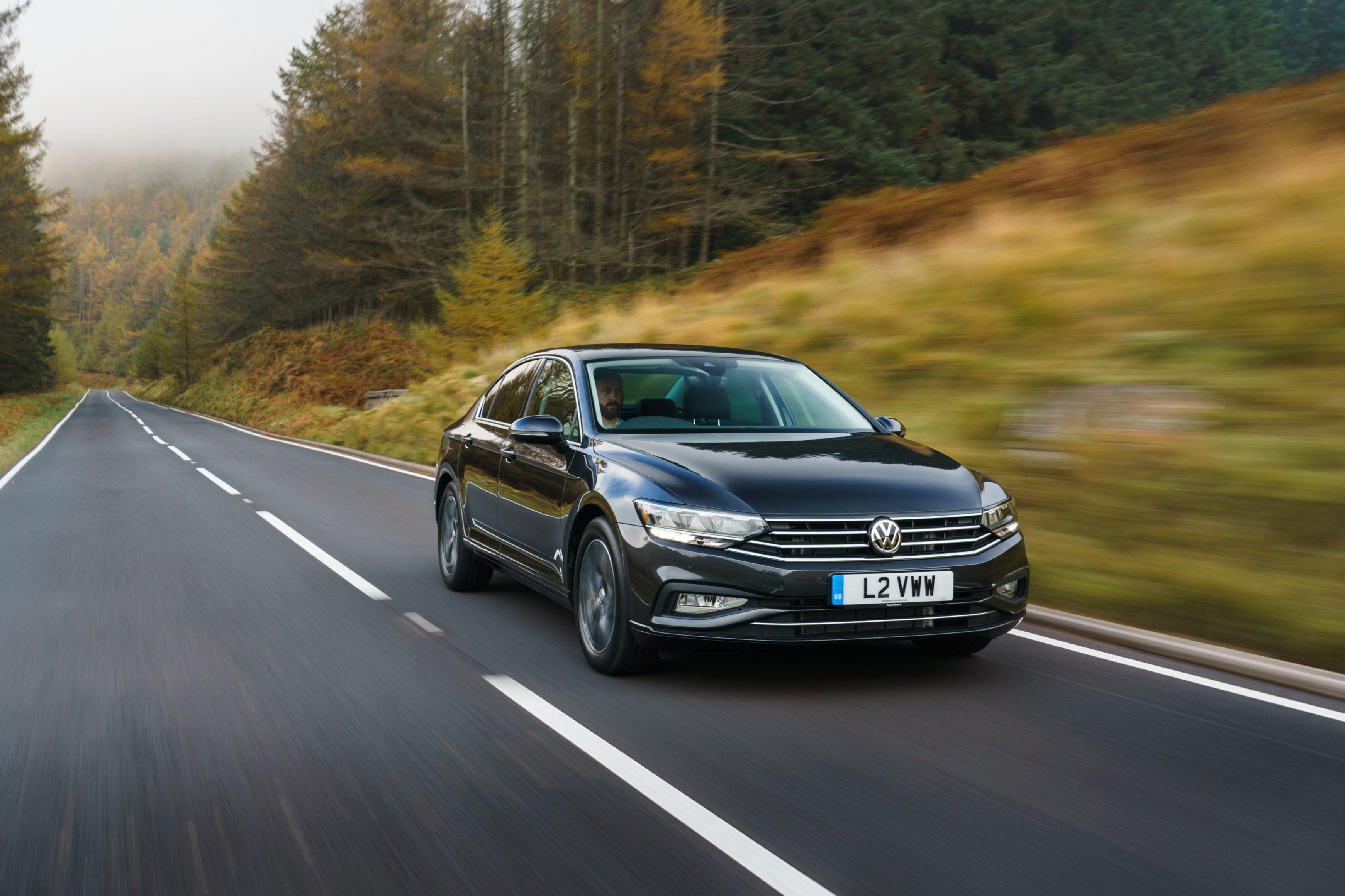 Brand-new Volkswagen Passat