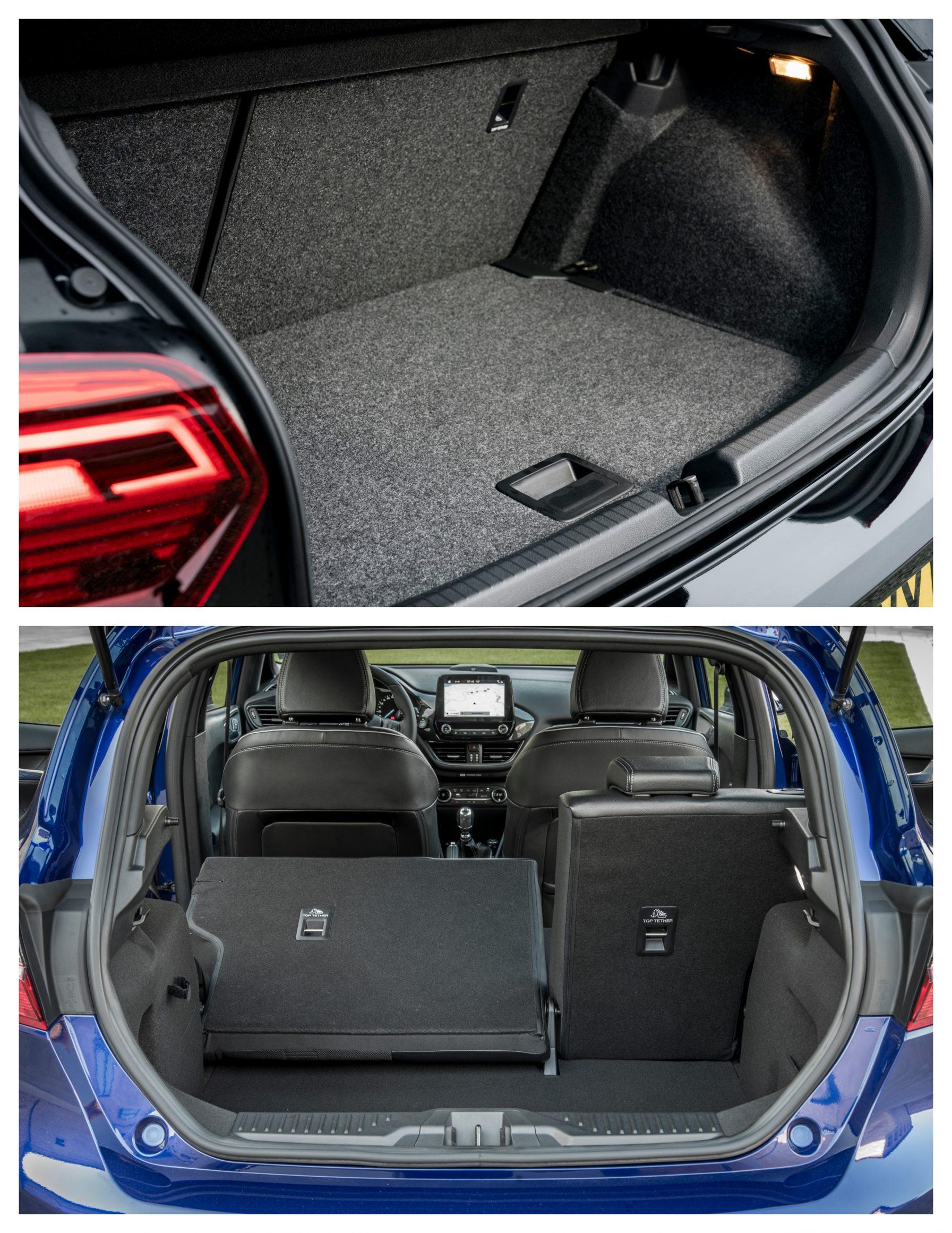Polo Vs Fiesta - boot space