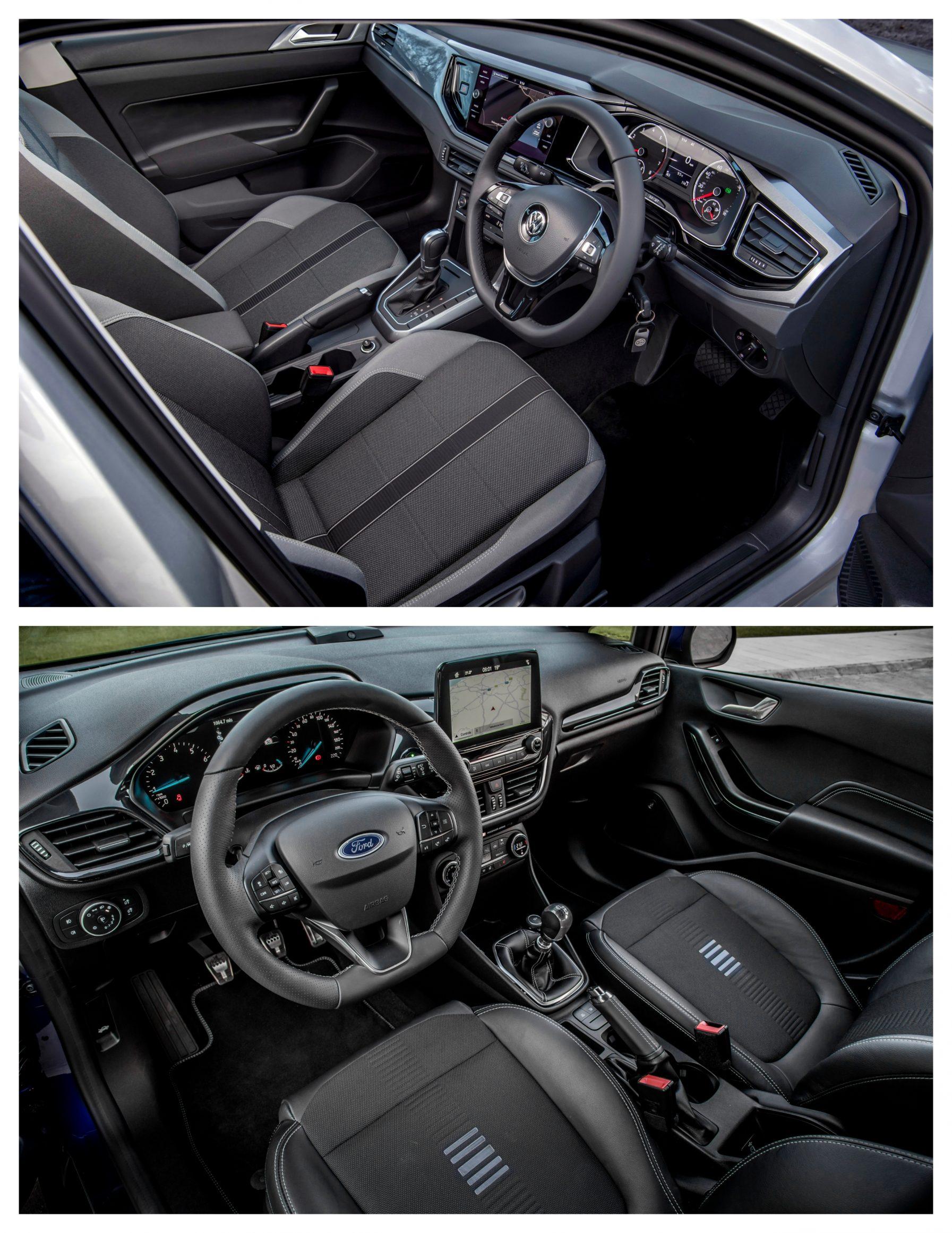 Polo Vs Fiesta - interior design and space